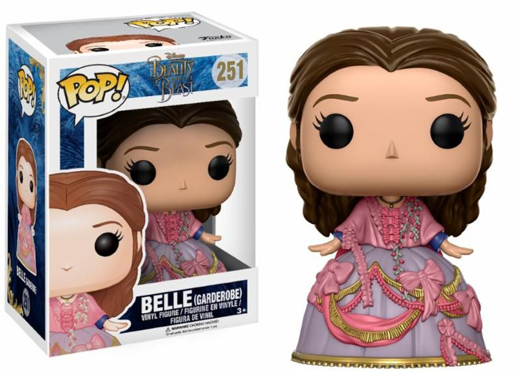 Disney Beauty and The Beast Belle Garderobe 251 Funko POP Vinyl Figure