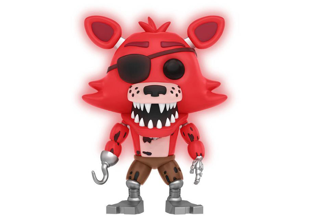 Five Night At Freddy's Foxy The Pirate GITD Funko POP Vinyl Figure