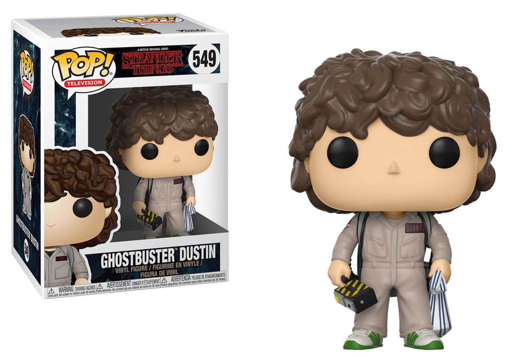 Stranger Things Dustin Ghostbuster 549 Funko POP Vinyl Figure