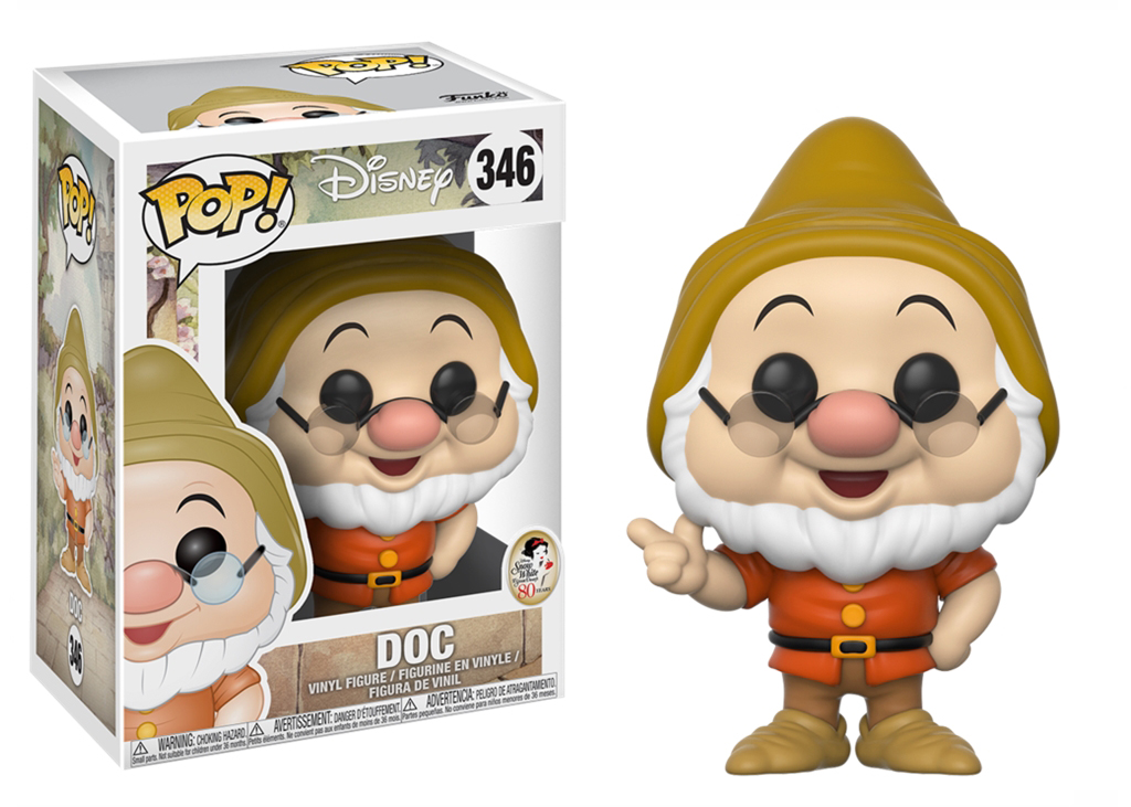 Disney Snow White Doc 346 Funko POP Vinyl Figure