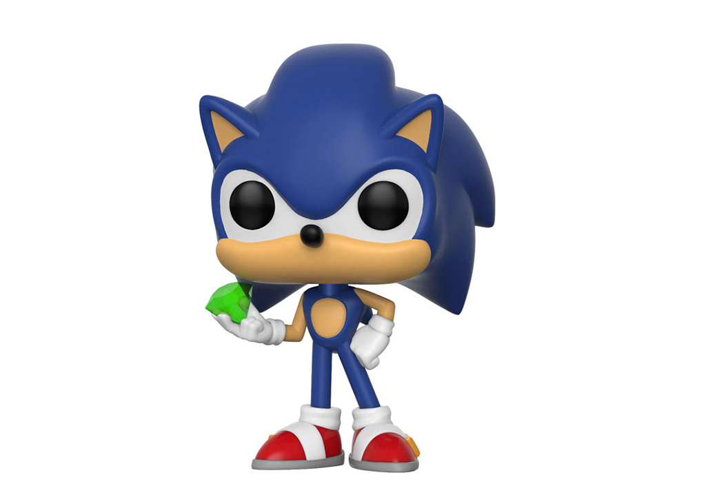 Sonic the Hedgehog Sonic with Emerald 284 Funko Pop Vinyl