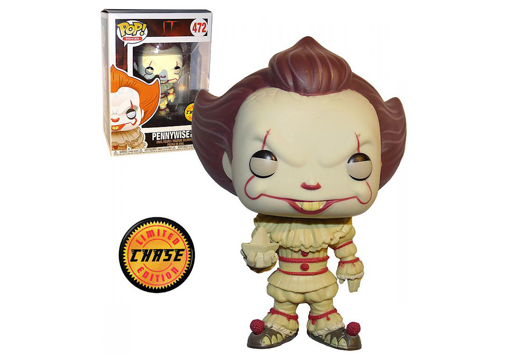 IT Pennywise with Boat Chase 472 Funko POP Vinyl Figure