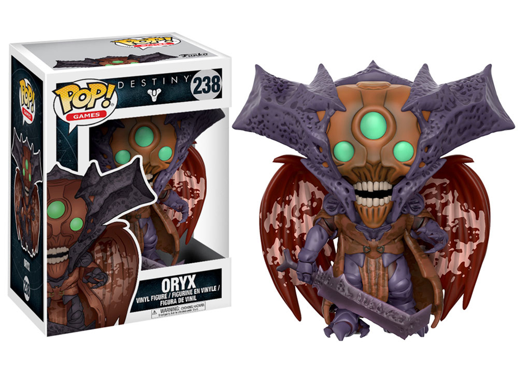 Destiny Oryx 238 Funko POP Vinyl Figure