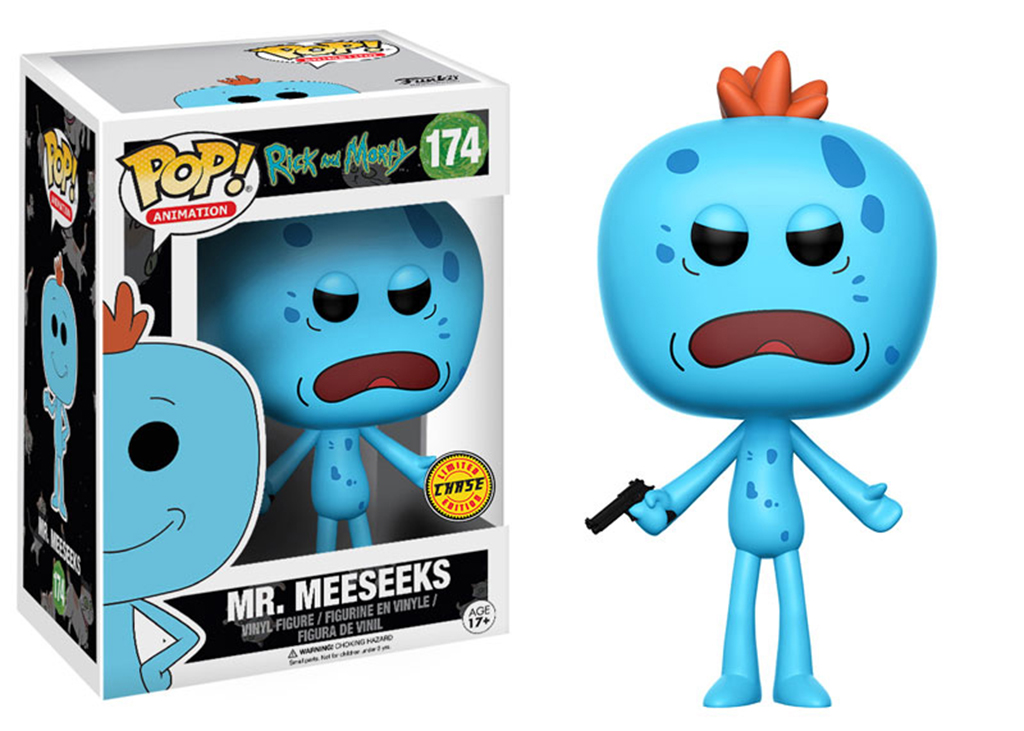 Rick and Morty Mr. Meeseeks Chase 174 Funko POP Vinyl Figure