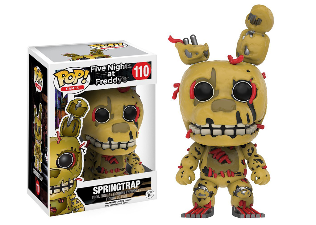 Five Nights at Freddy's Springtrap 110 Funko POP Vinyl Figure