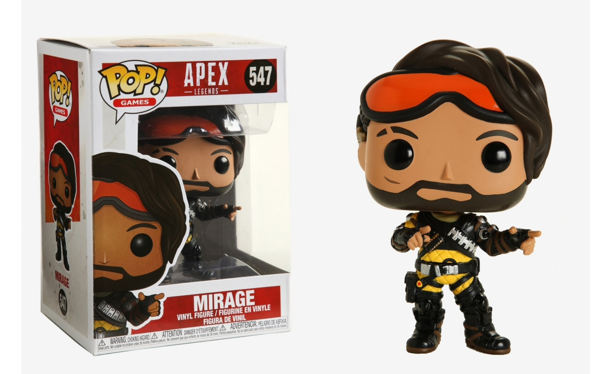 Apex Legends Mirage 547 Funko POP Vinyl Figure