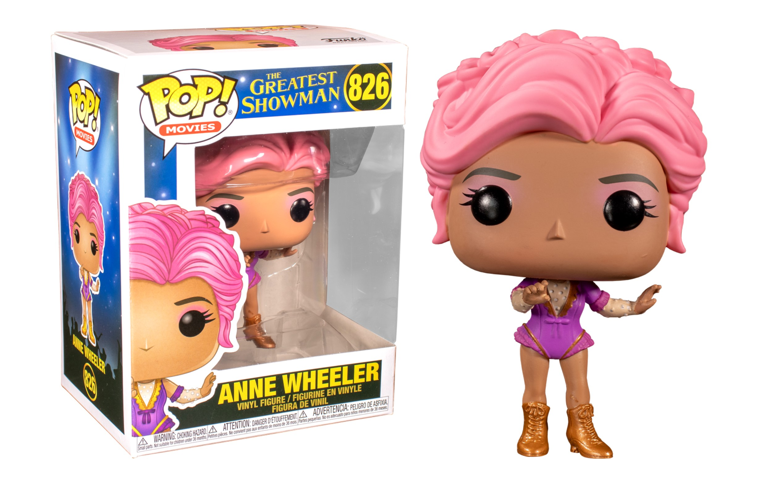 The Greatest Showman Anne Wheeler 825 Funko POP Vinyl Figure