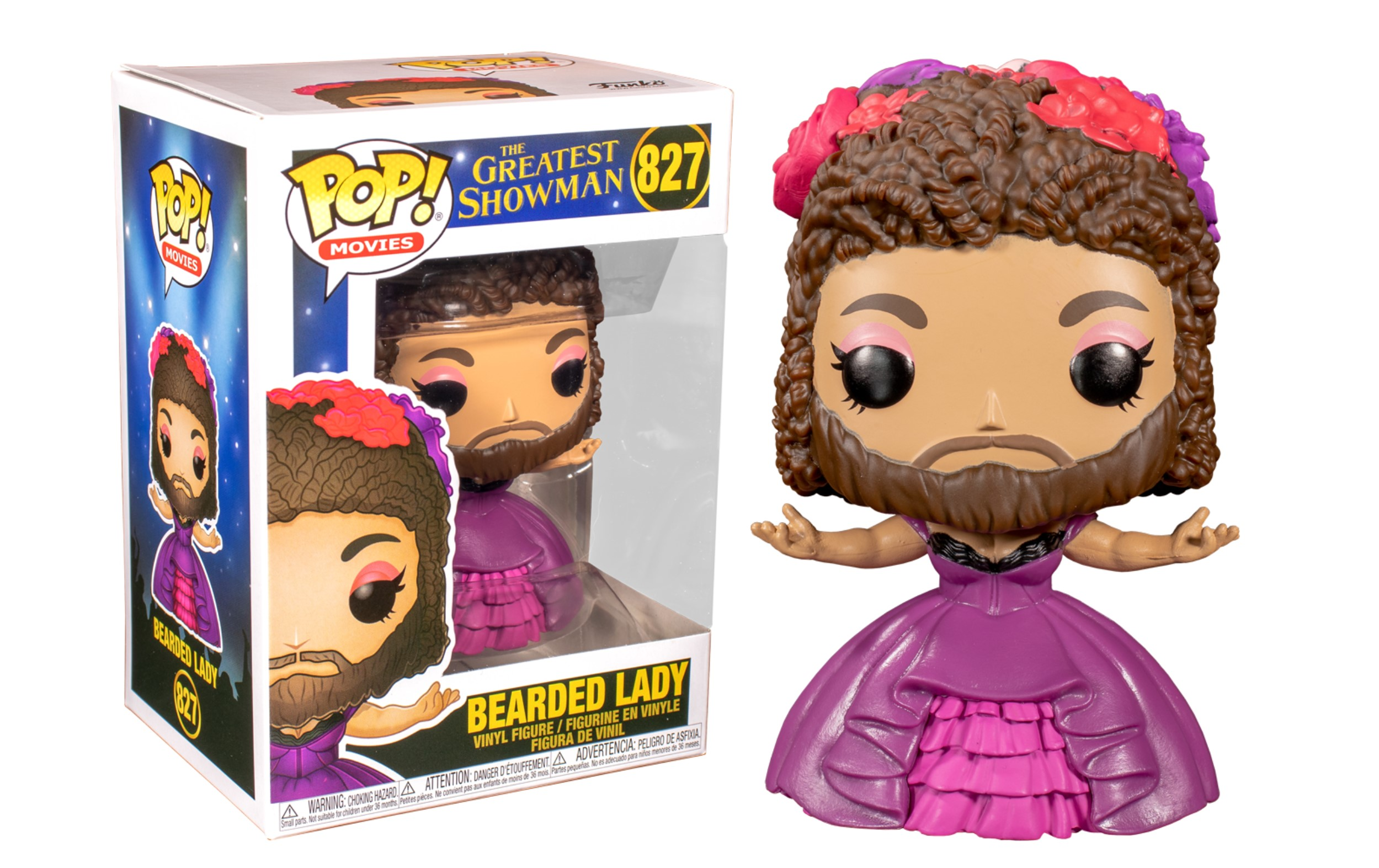 The Greatest Showman Bearded Lady 827 Funko POP Vinyl Figure