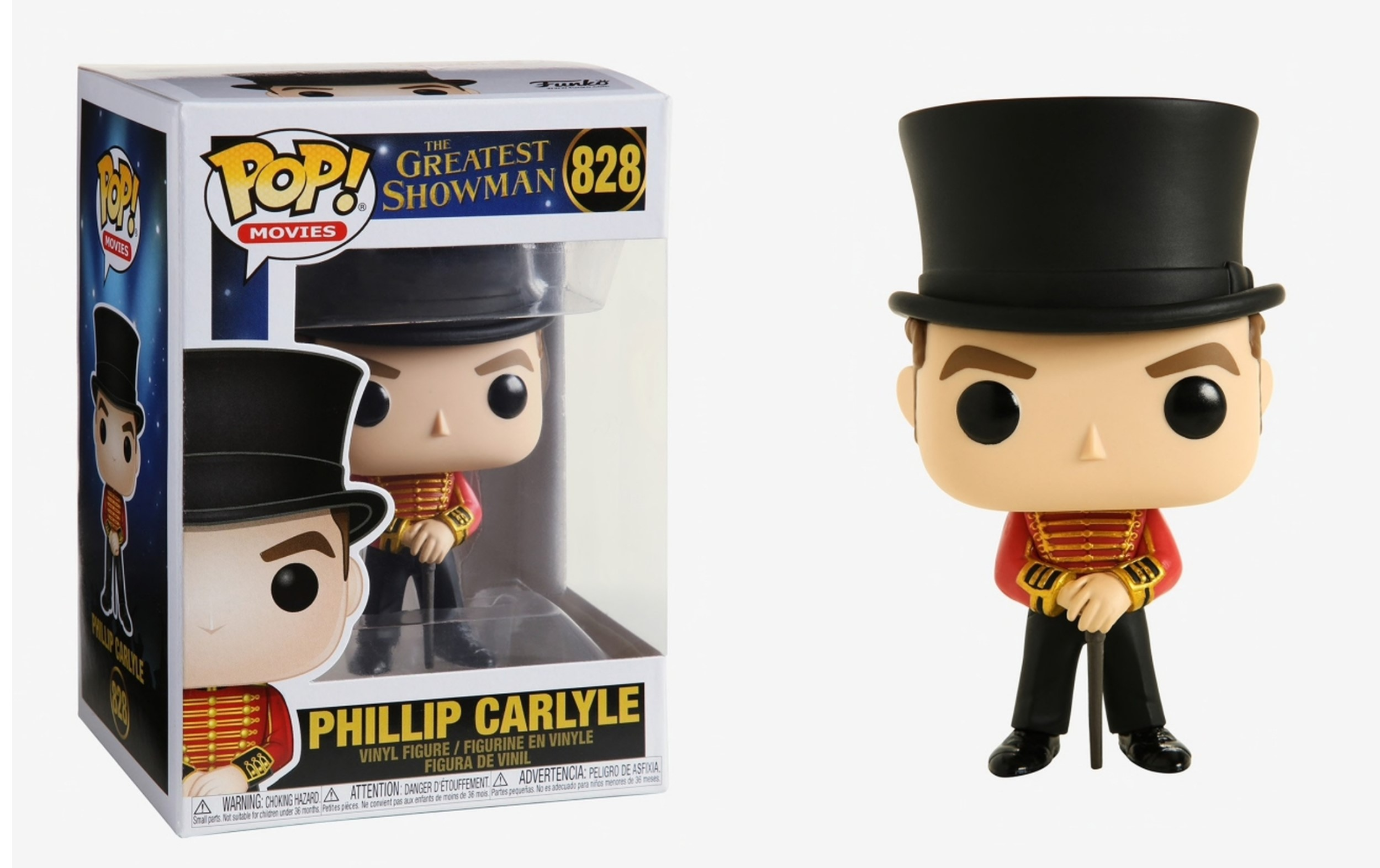 The Greatest Showman Phillip Carlyle 828 Funko POP Vinyl Figure