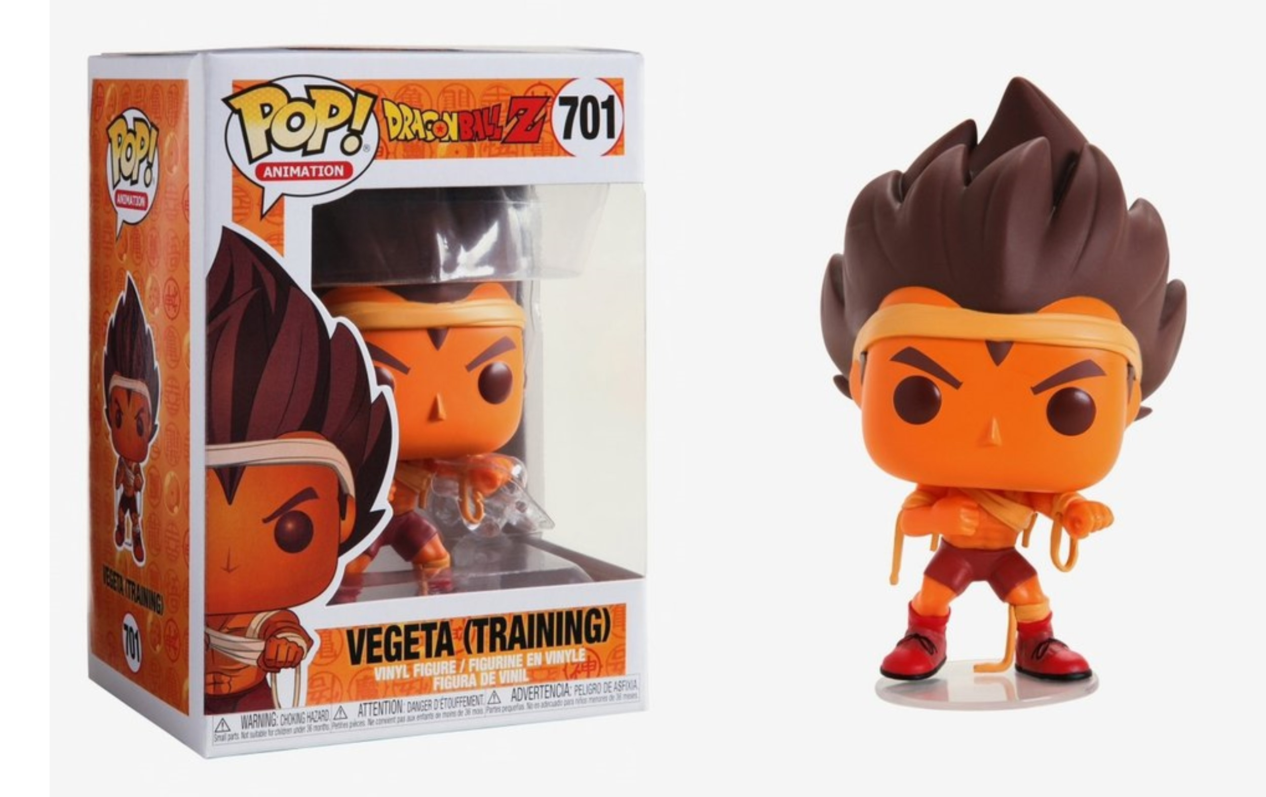 Dragonball Z Vegeta Training 701 Funko POP Vinyl Figure