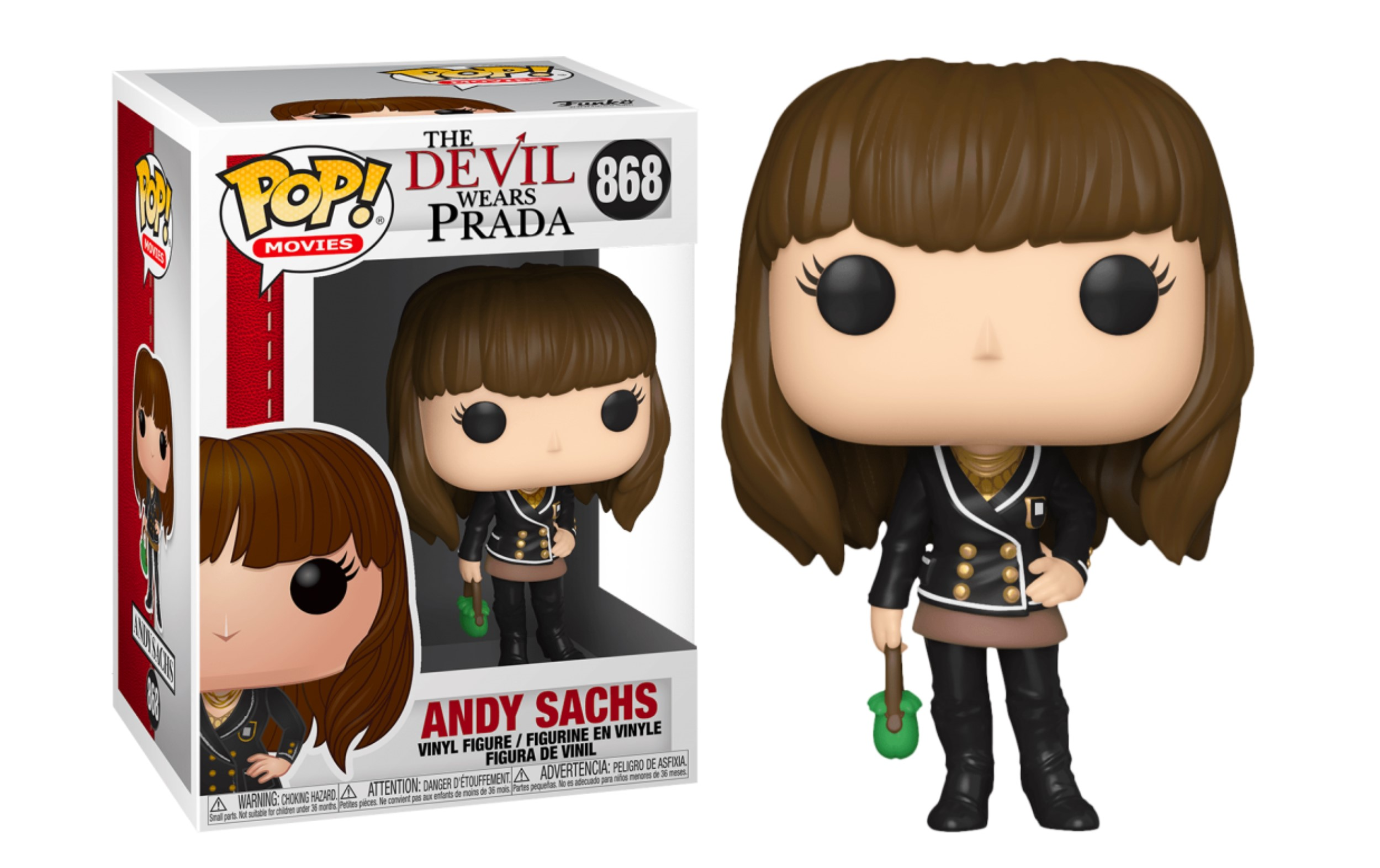 The Devil Wears Prada Andy Sachs 868 Funko POP Vinyl Figure