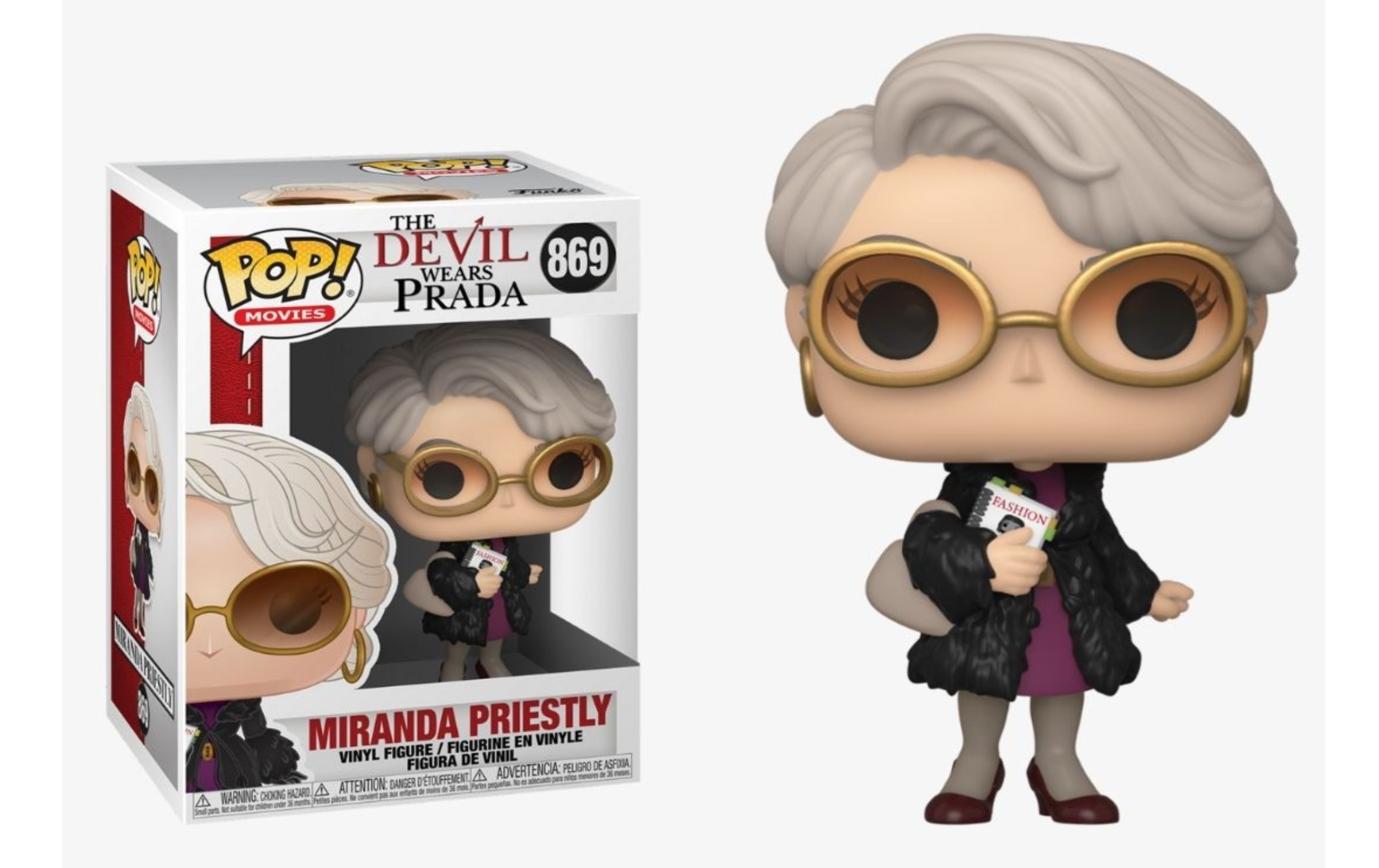 The Devil Wears Prada Miranda Priestly 869 Funko POP Vinyl Figure