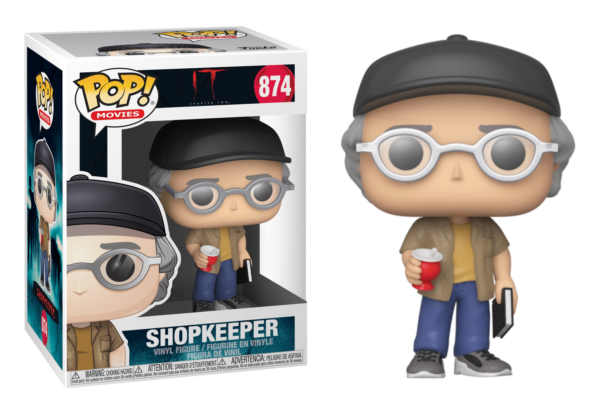 IT Shopkeeper 874 Funko POP Vinyl Figure