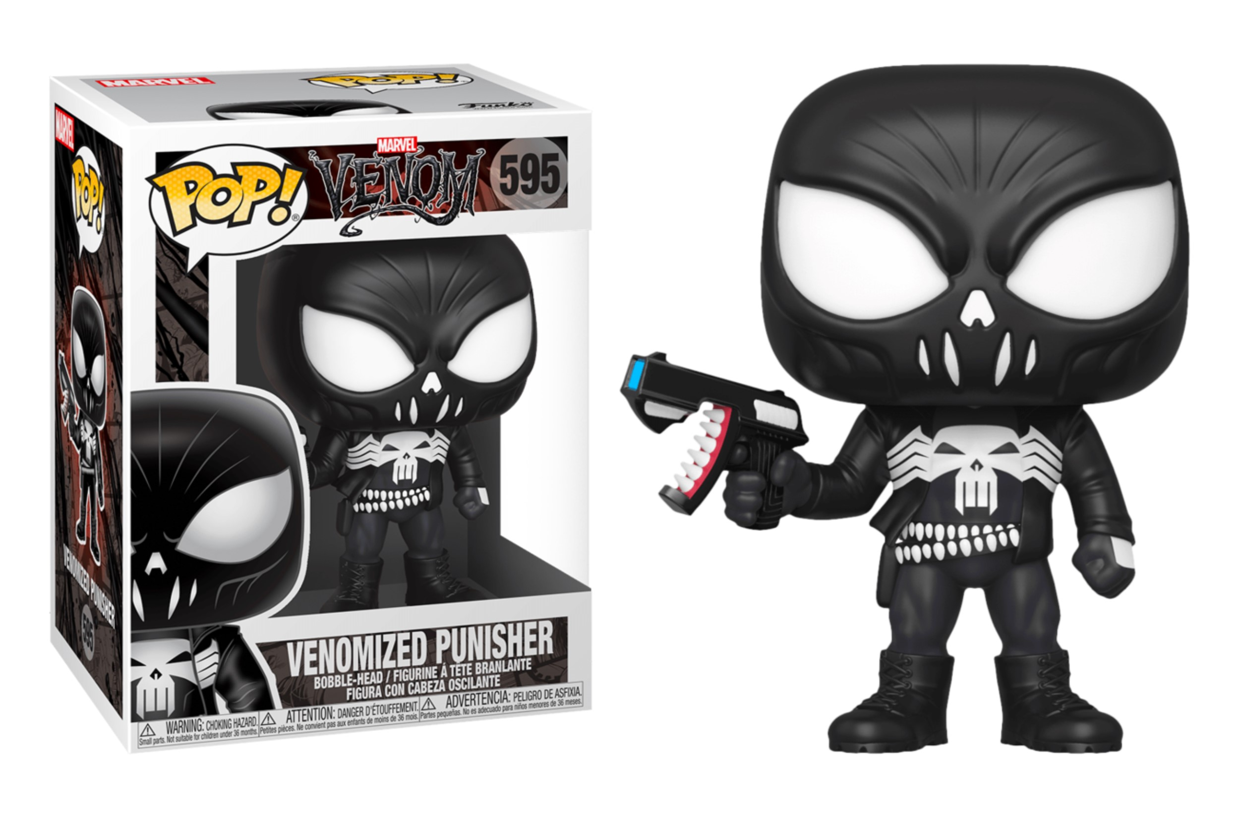 Marvel Venomized Punisher 595 Funko POP Vinyl Figure