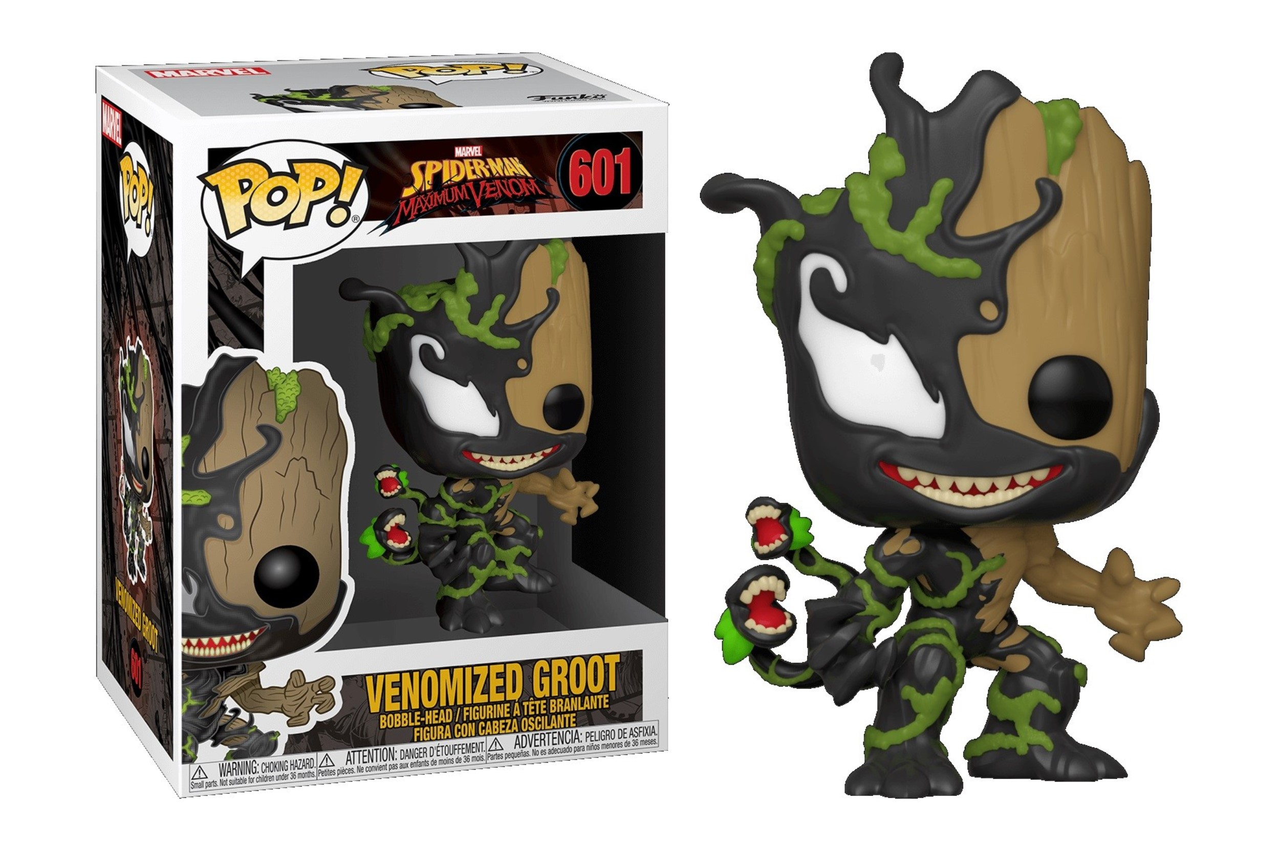 Marvel Venomized Groot 601 Funko POP Vinyl Figure