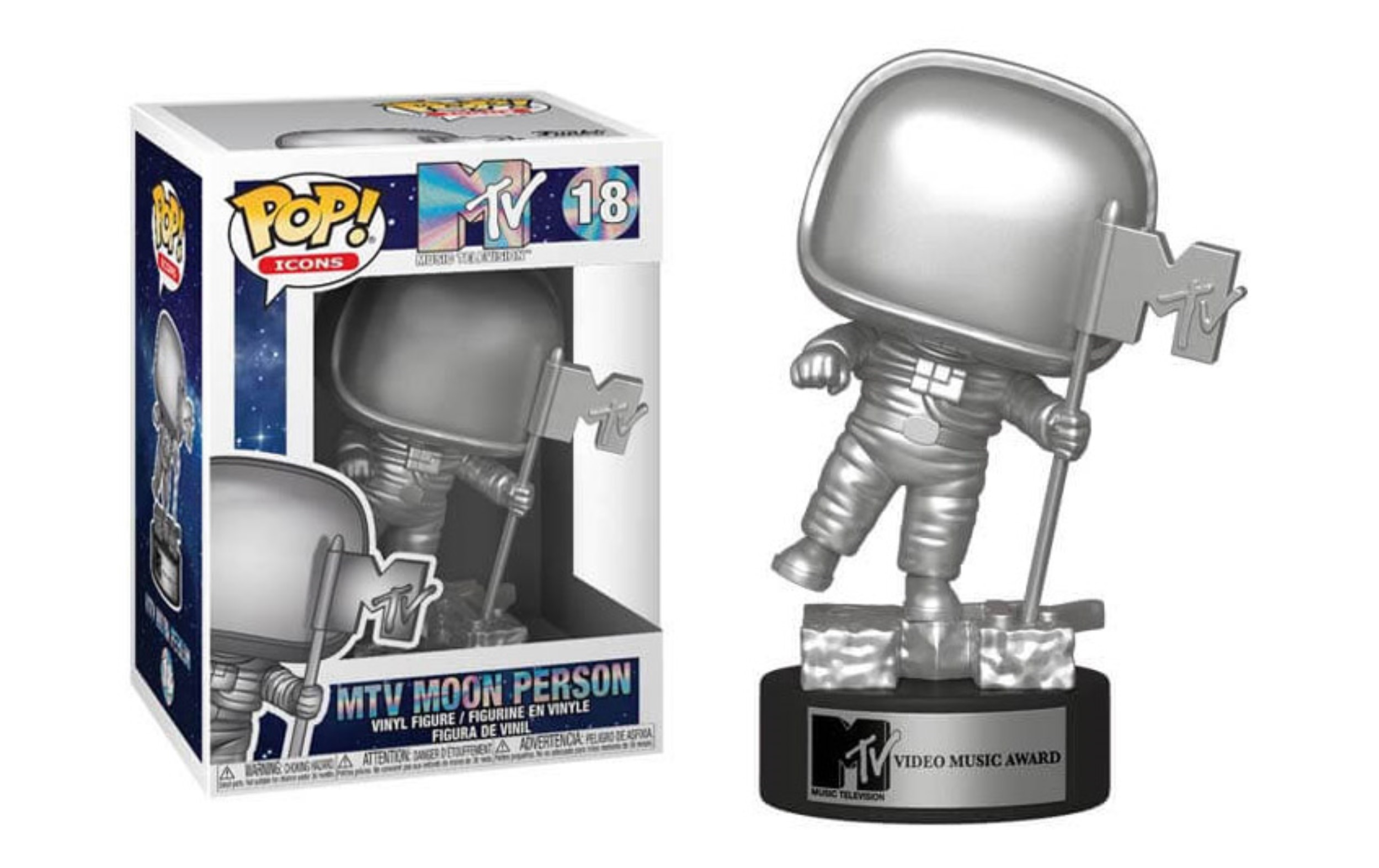 MTV Moon Person 18 Funko Pop Vinyl Figure