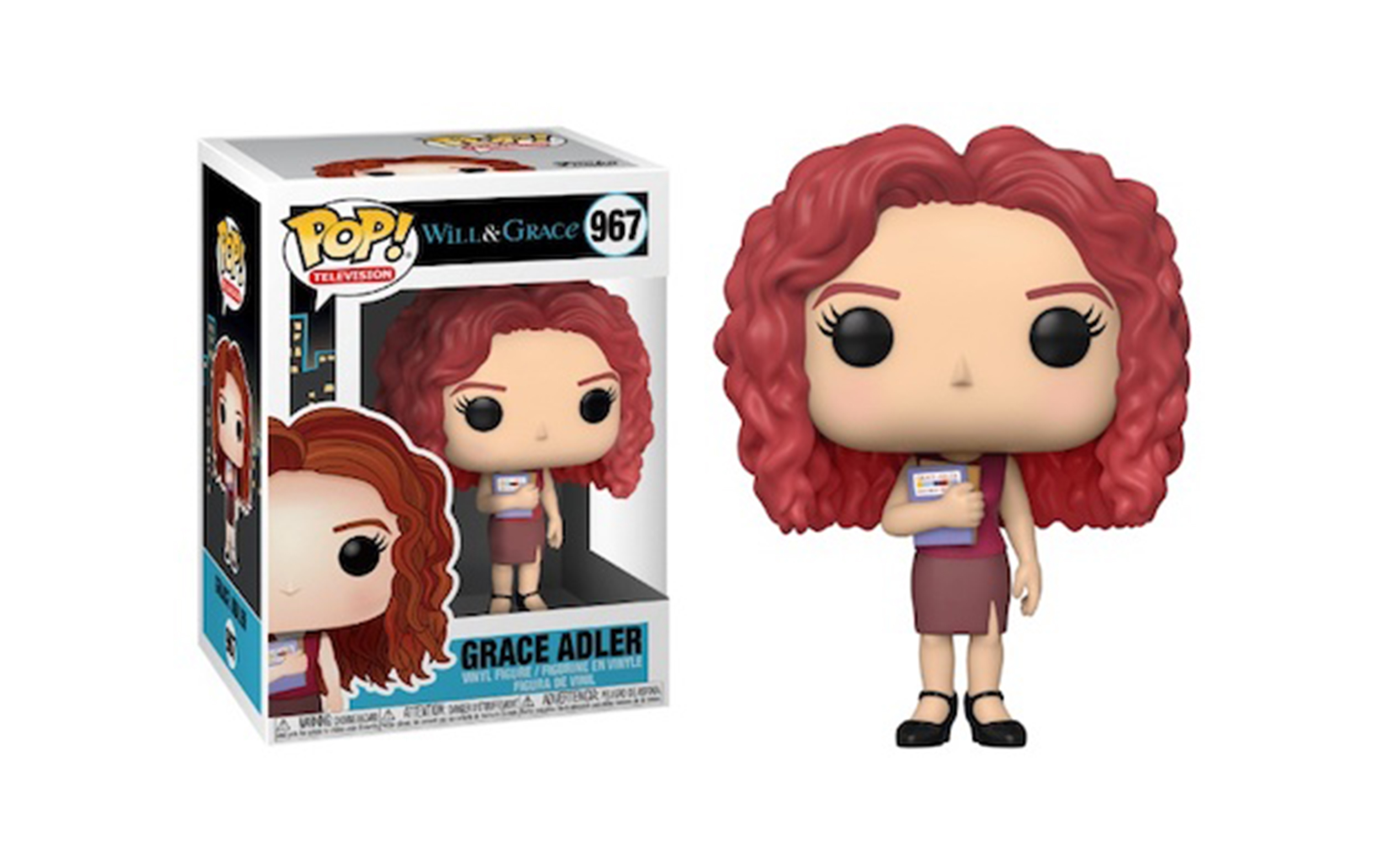 Will and Grace Grace Adler 967 Funko POP Vinyl Figure
