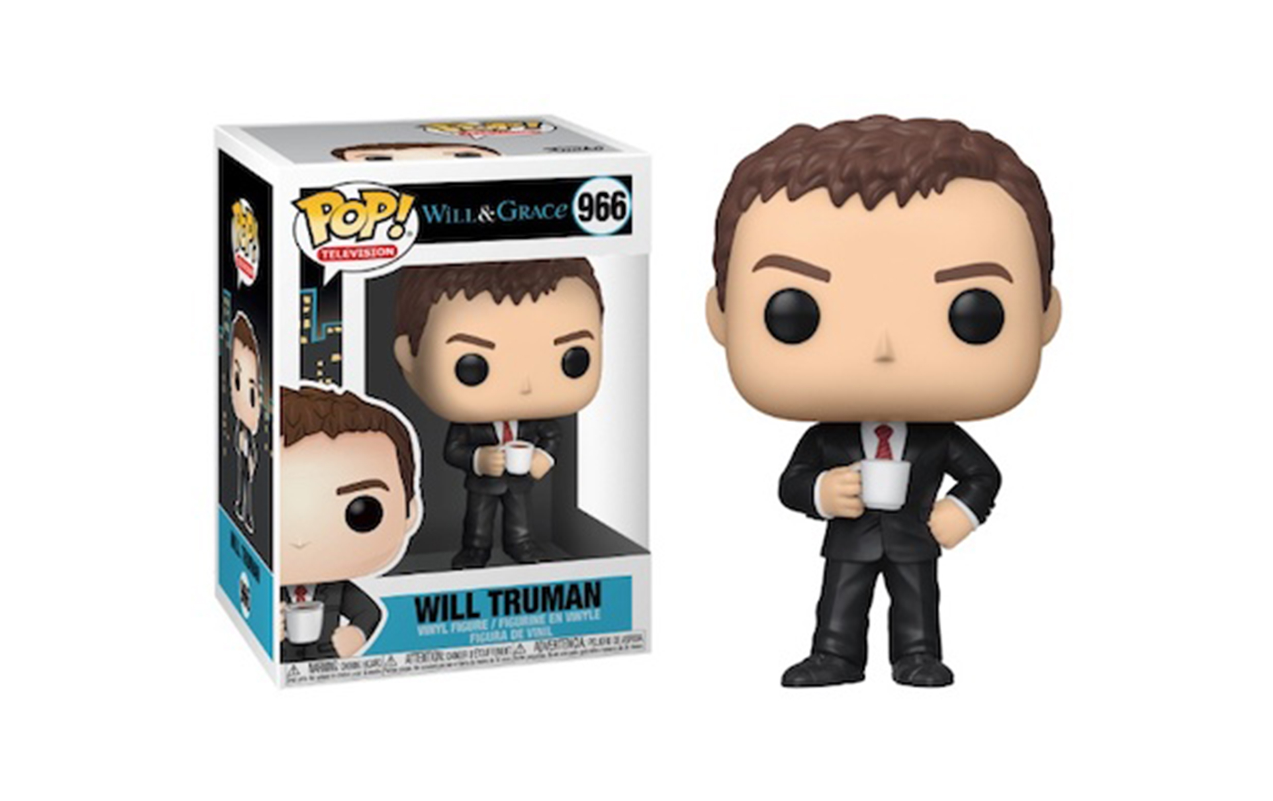 Will and Grace Will Truman 966 Funko POP Vinyl Figure
