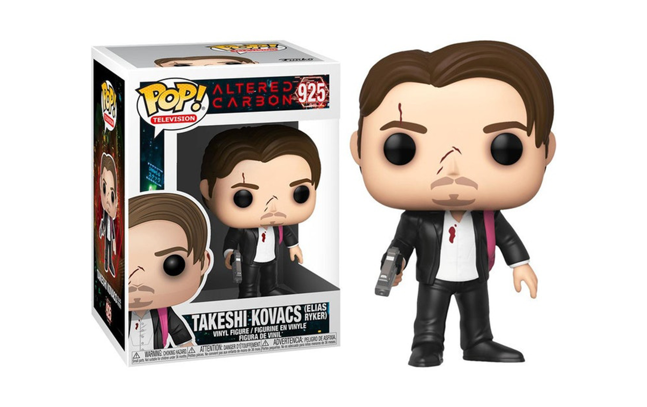 Altered Carbon Takeshi Kovacs Elias Ryker 925 Funko POP Vinyl Figure
