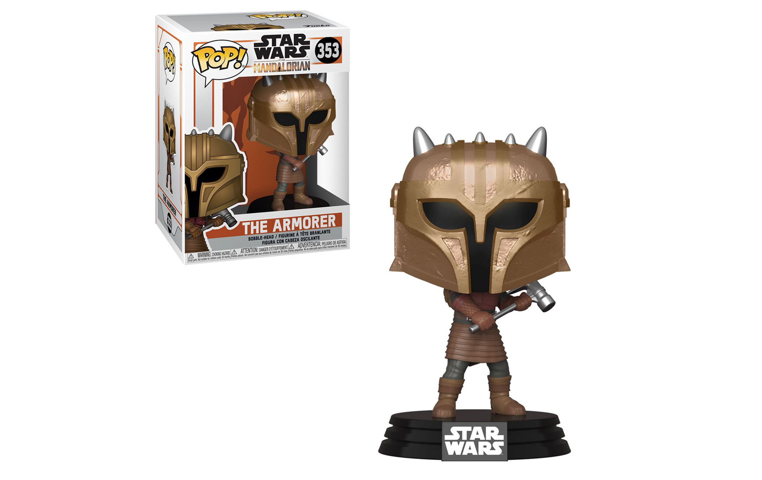Star Wars The MandalorianThe Armorer 353 Funko POP Vinyl Figure