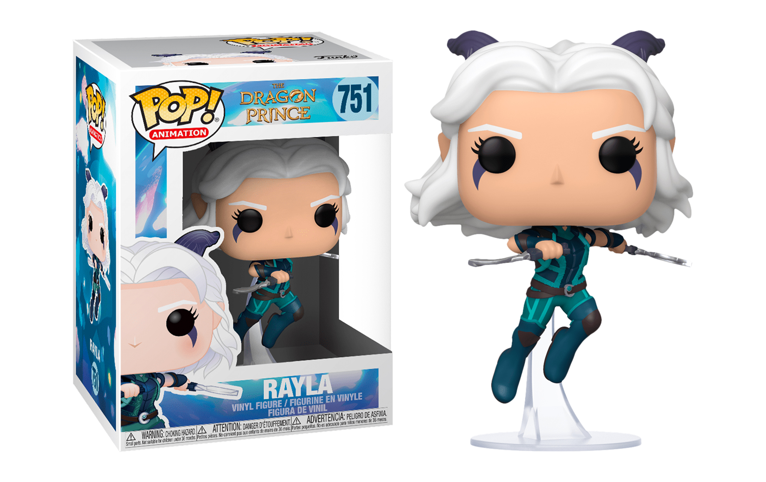 Dragon Prince Rayla 751 Funko POP Vinyl Figure
