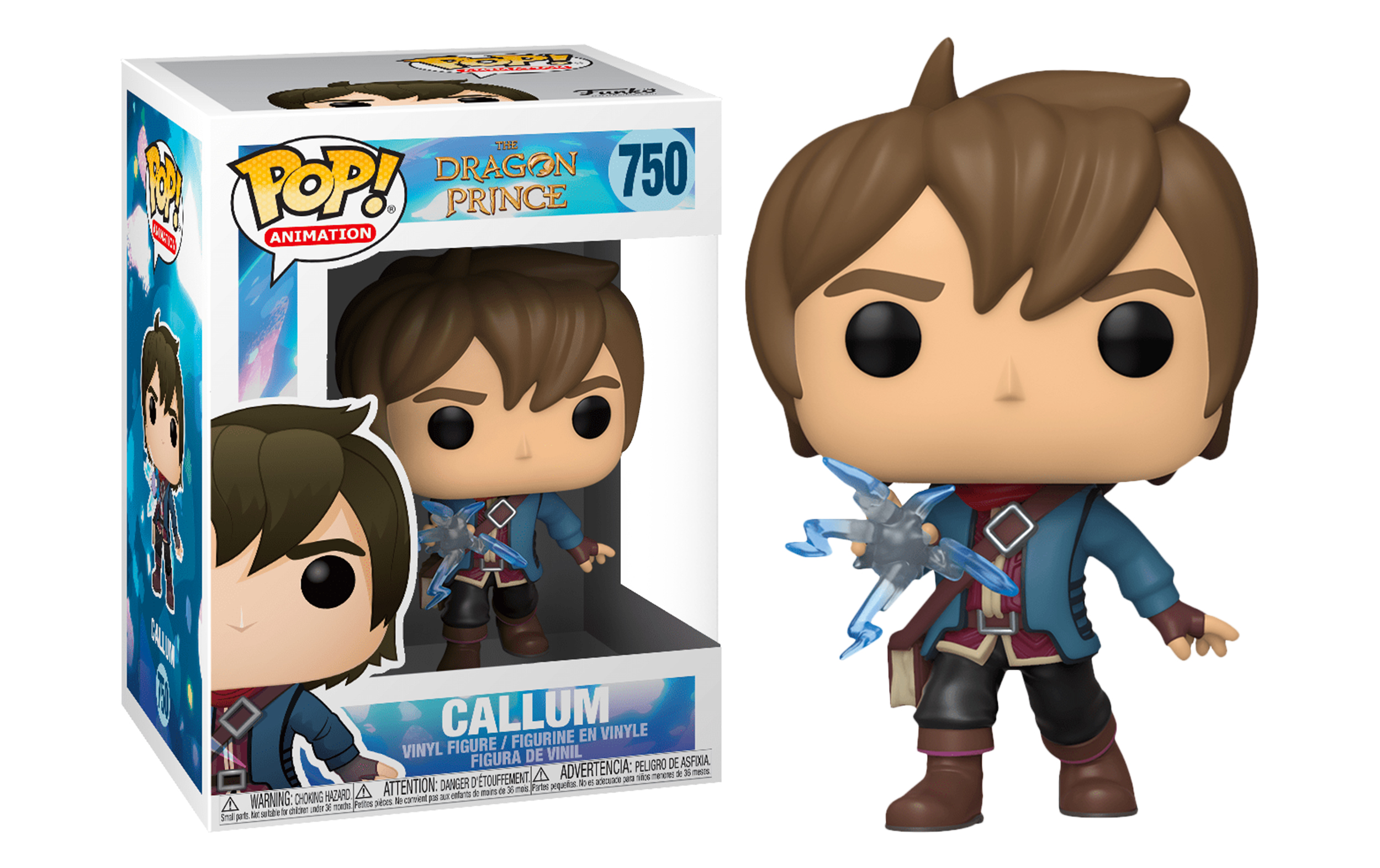 Dragon Prince Callum 750 Funko POP Vinyl Figure