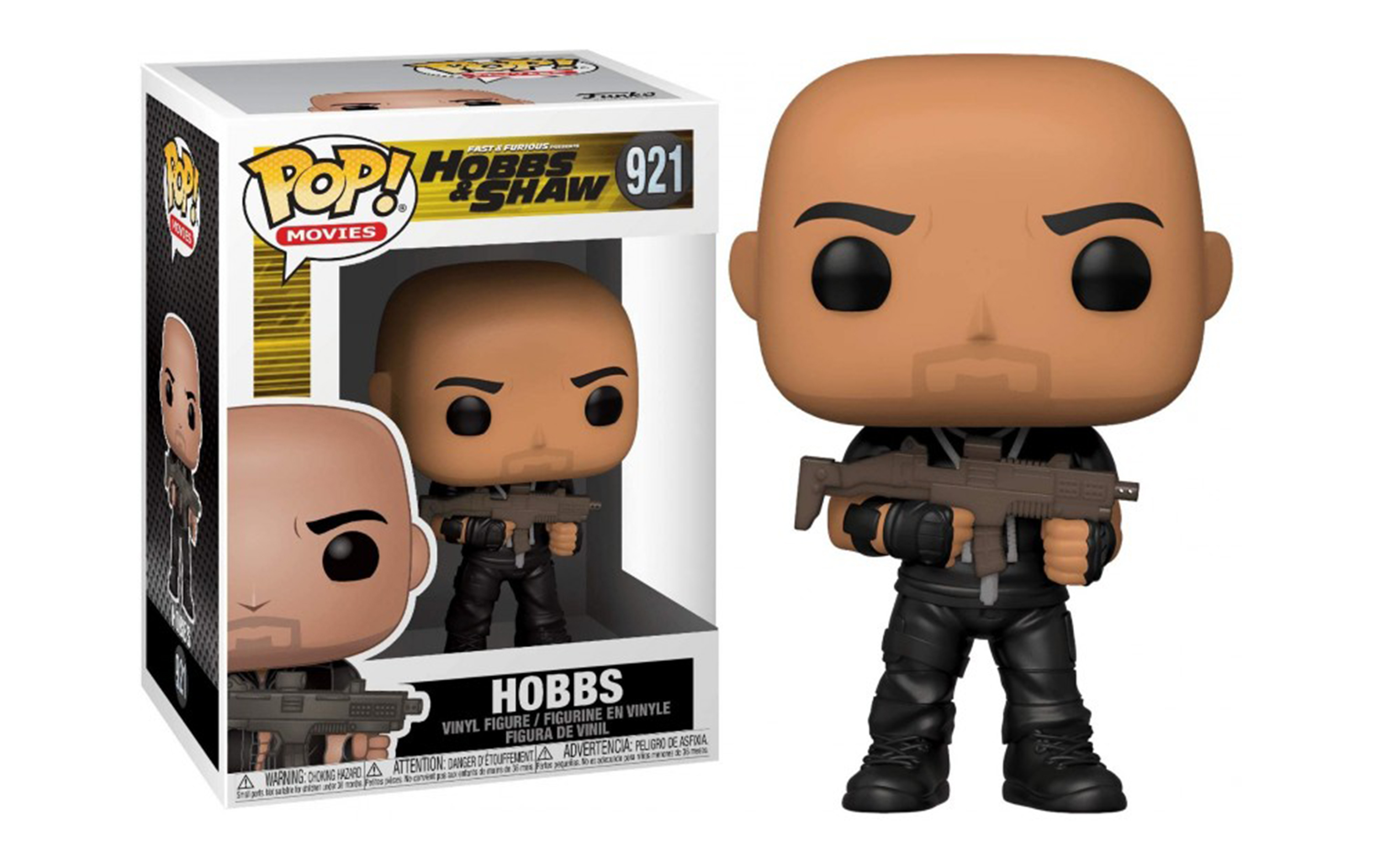 Fast And Furious Hobbs and Shaw Hobbs 921 Funko POP Vinyl Figure
