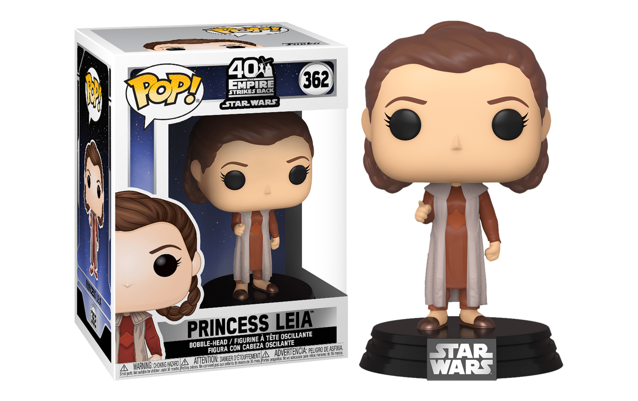 Star Wars Princess Leia 362 Funko POP Vinyl Figure