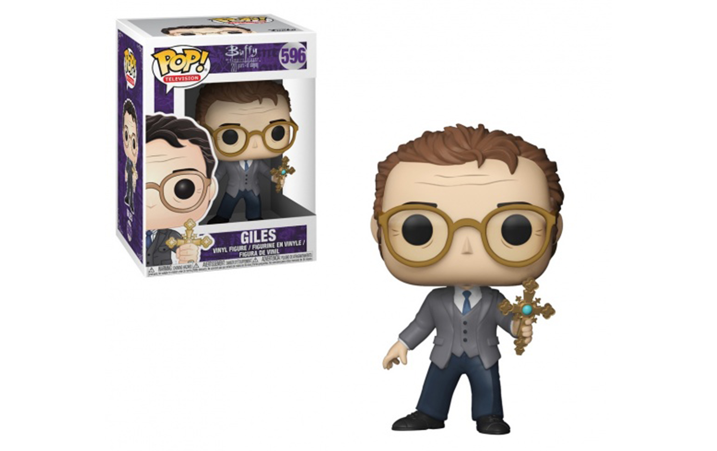 Buffy the Vampire Slayer Giles 596 Funko POP Vinyl Figure