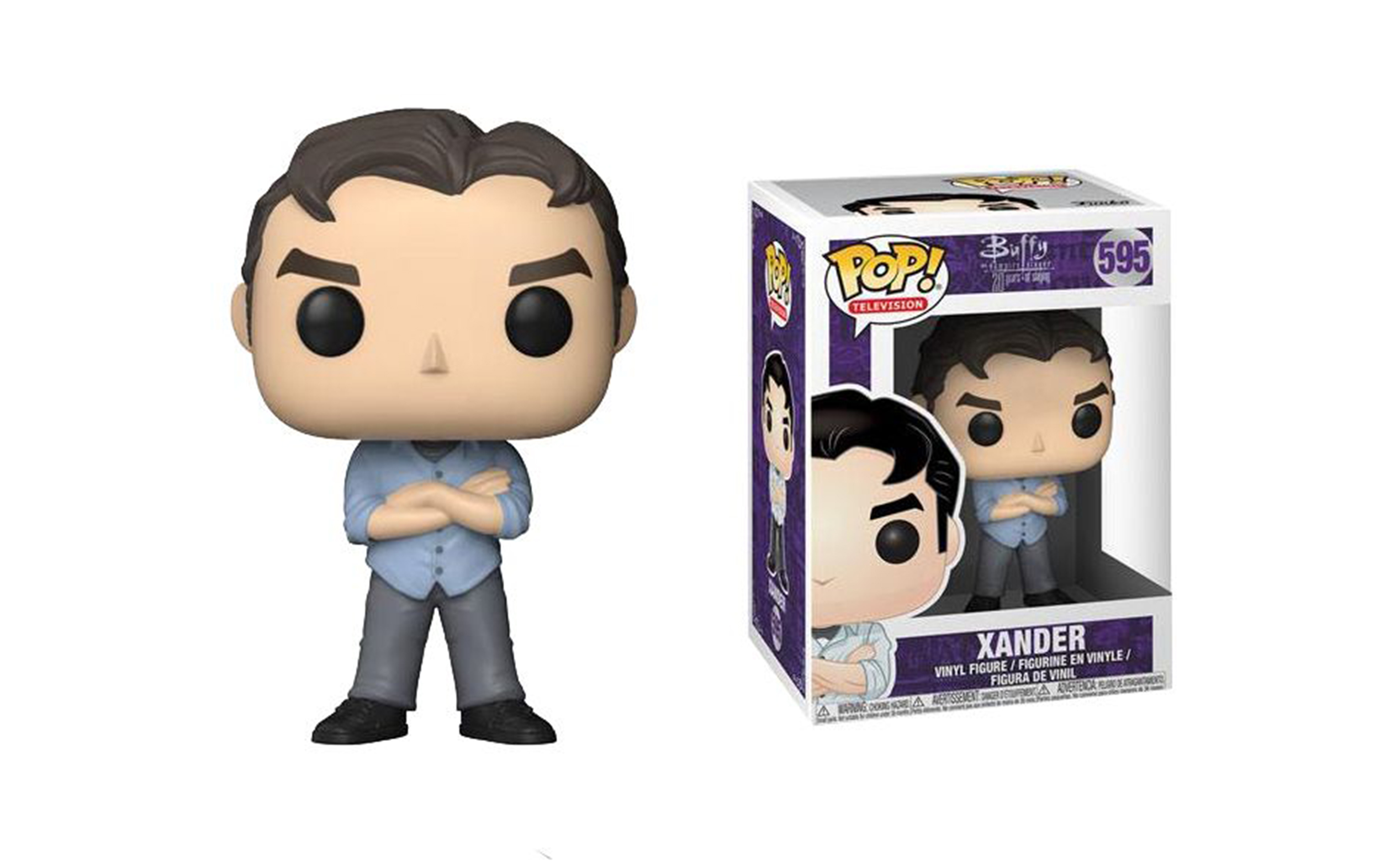 Buffy the Vampire Slayer Xander 595 Funko POP Vinyl Figure