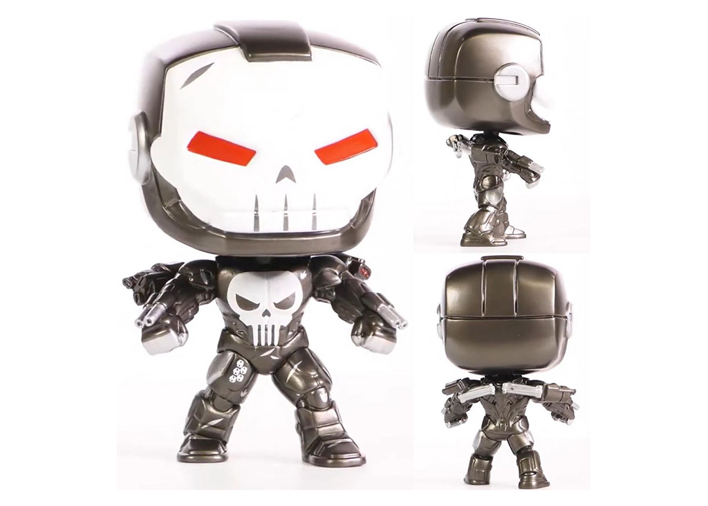 Marvel Punisher War Machine 623 Funko POP Vinyl Figure