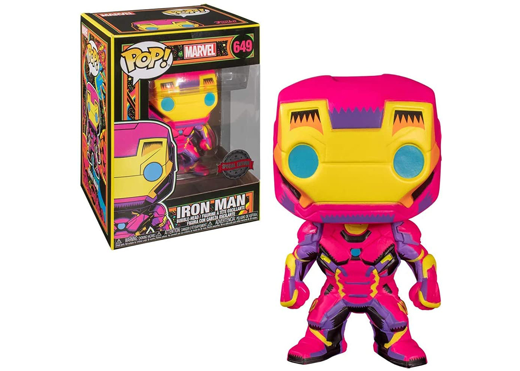 Marvel Iron Man Black Light 649 Funko POP Vinyl Figure