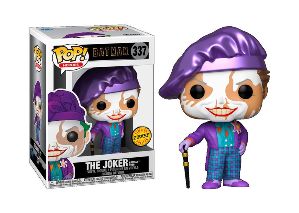 Batman 1989 The Joker Chase 337 Funko POP Vinyl Figure