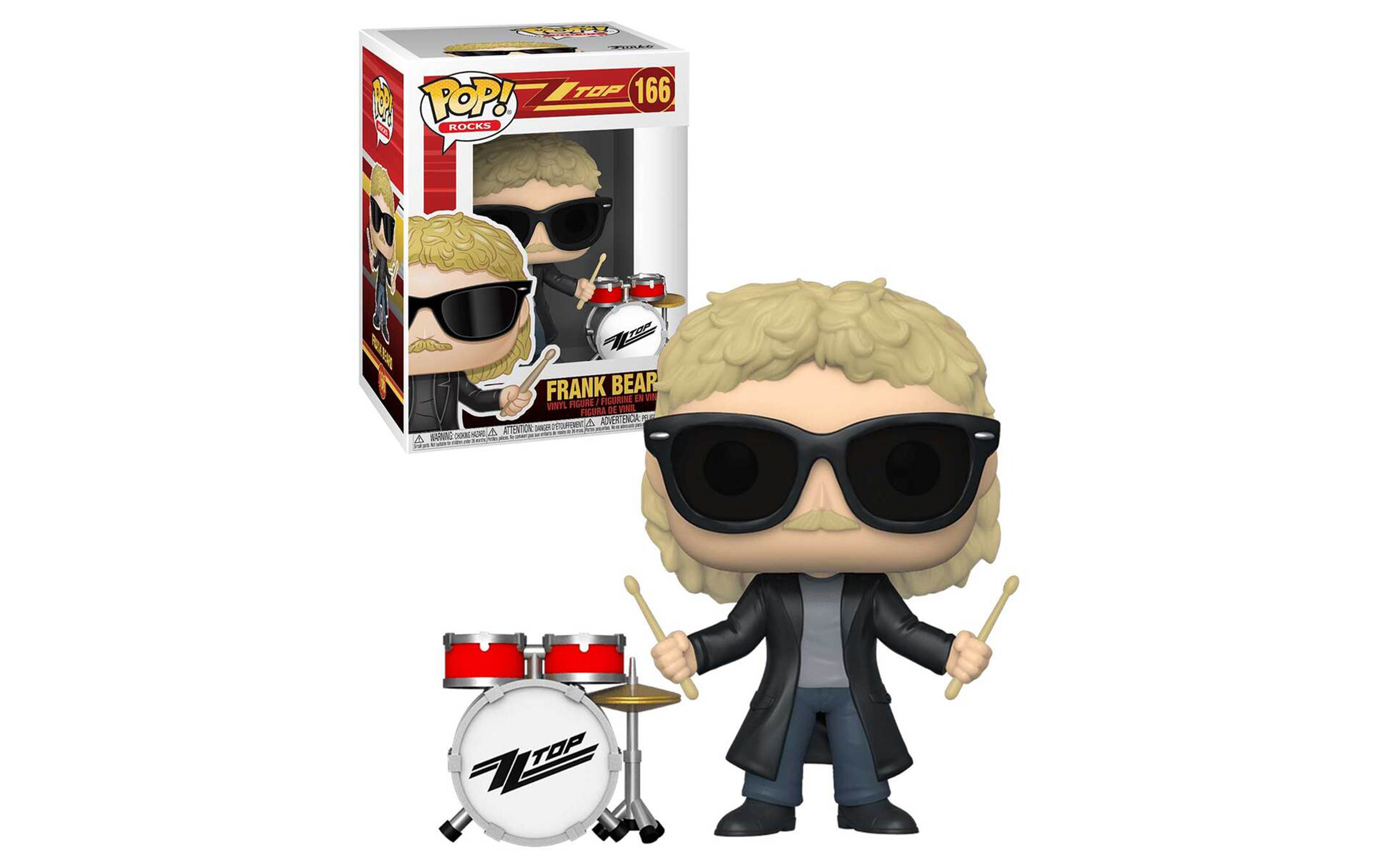 ZZ Top Frank Beard 166 Funko POP Vinyl Figure
