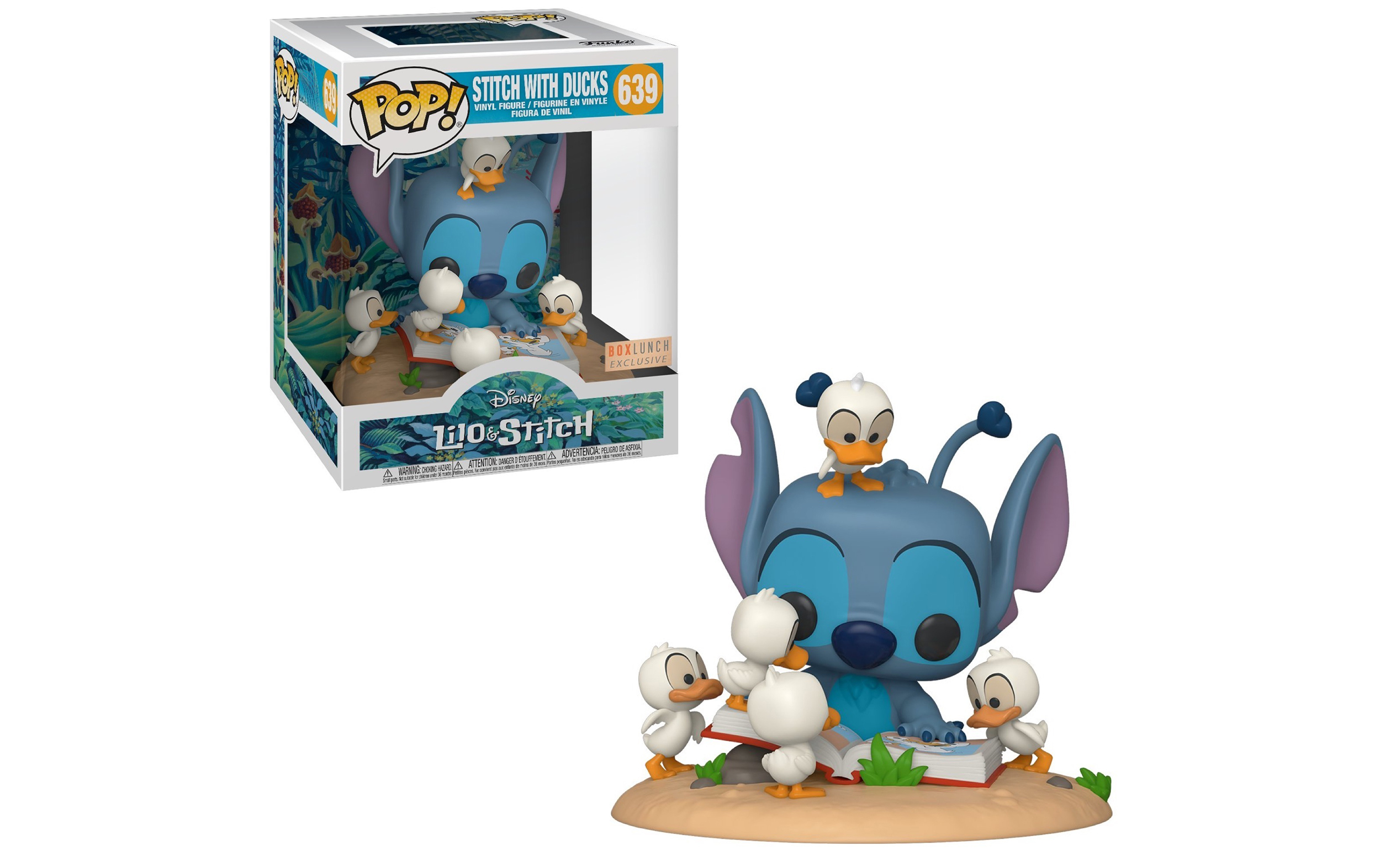 Disney Stitch with Ducks Boxlunch 639 Funko POP Vinyl Figure