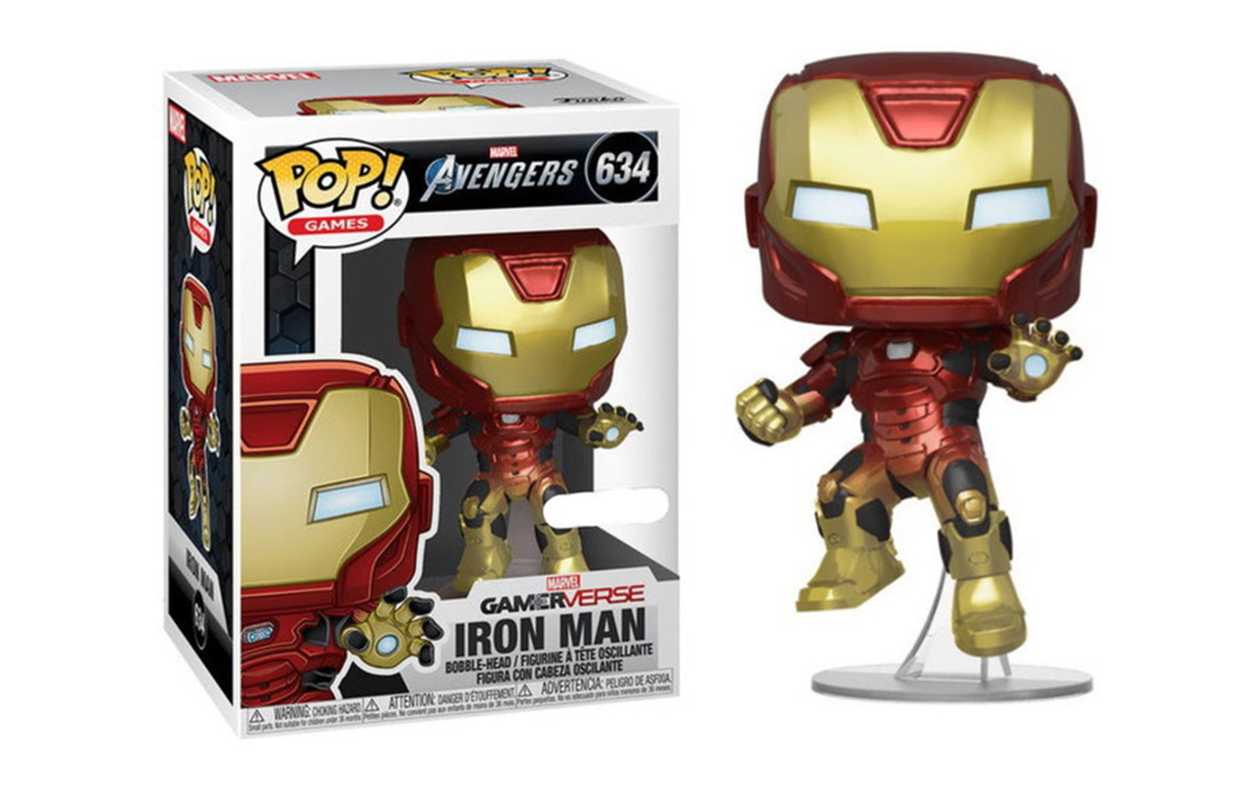 Marvel Avengers Gamerverse Iron Man 634 Funko POP Vinyl Figure
