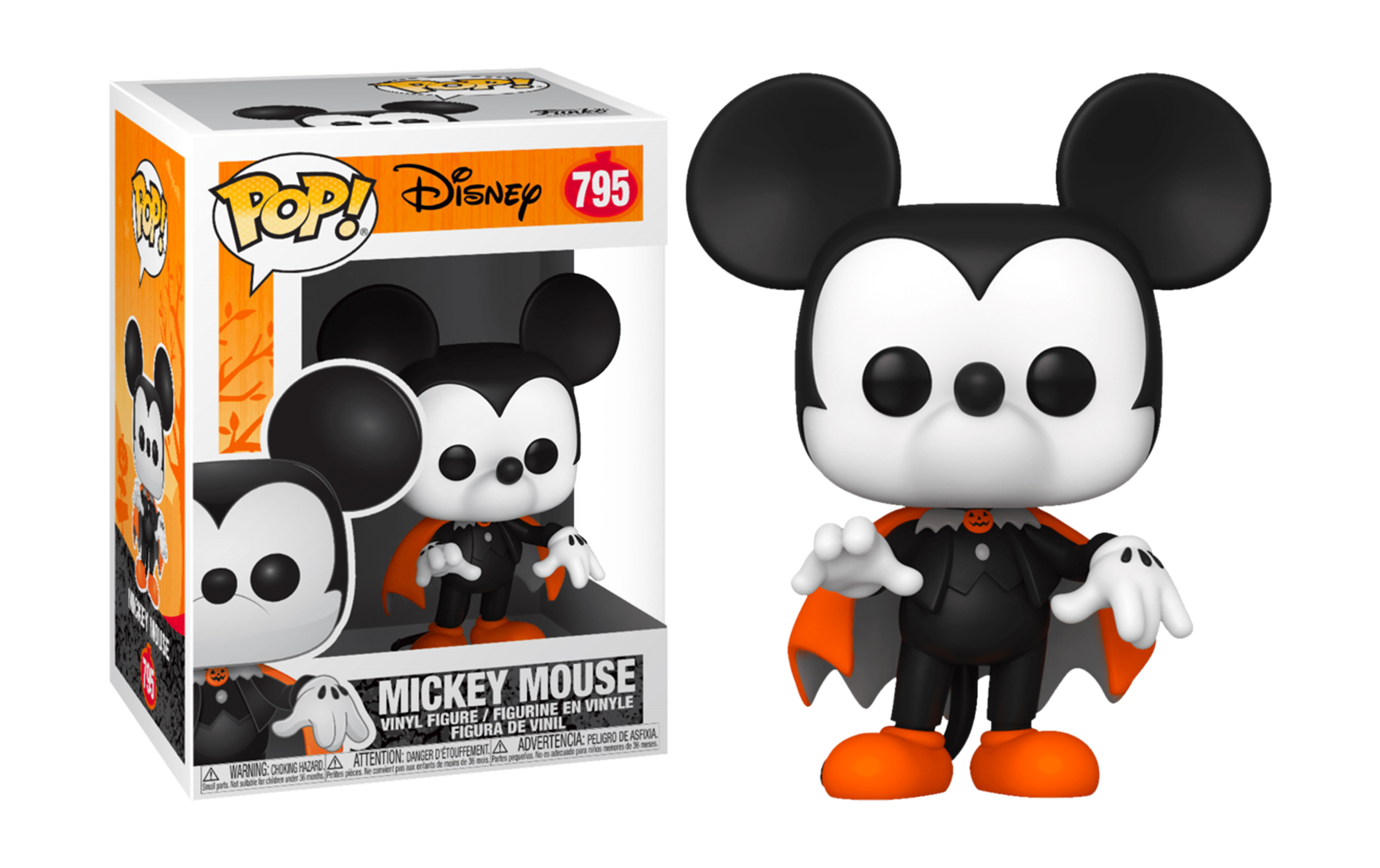Disney Mickey Mouse Halloween 795 Funko POP Vinyl Figure