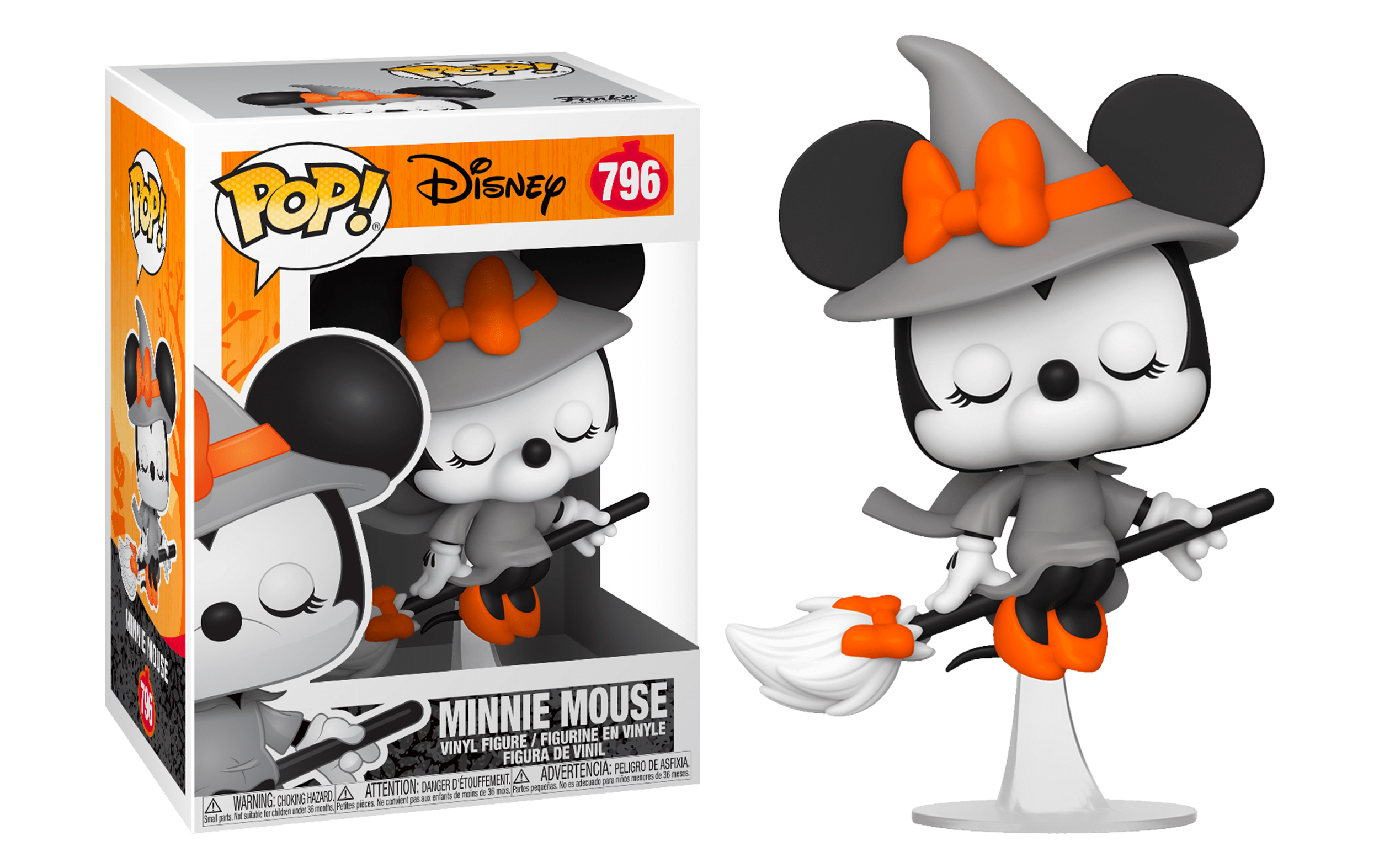 Disney Minnie Mouse Halloween 796 Funko POP Vinyl Figure
