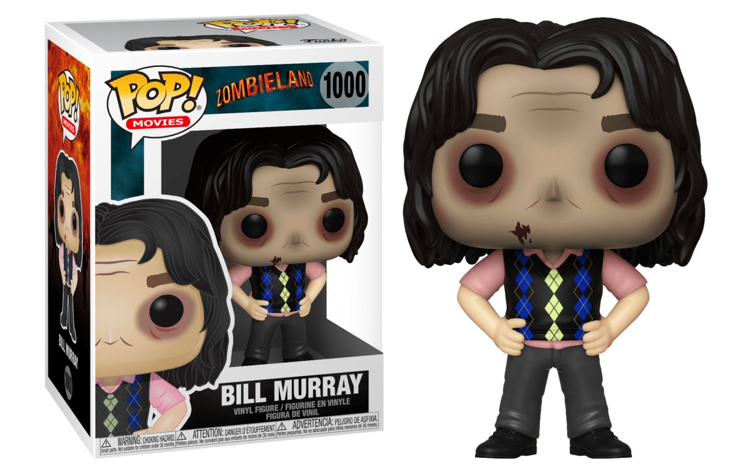 Zombieland Bill Murray 1000 Funko POP Vinyl Figure