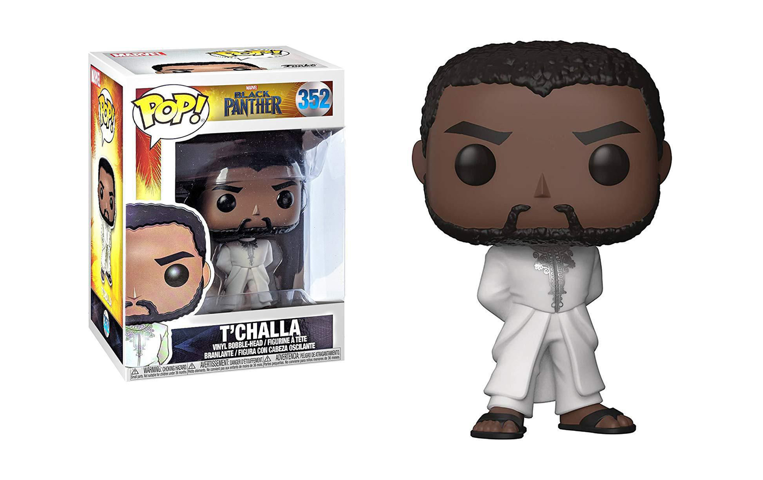 Marvel Black T'Challa 352 Funko POP Vinyl Figure