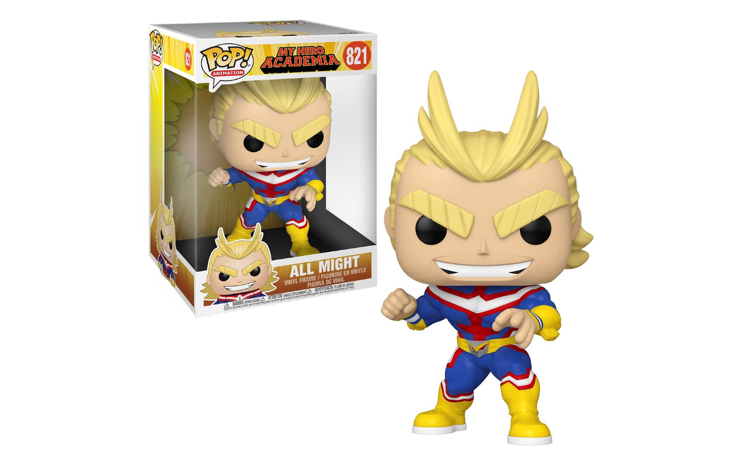 "My Hero Academia All Might 10"" 821 Funko POP Vinyl Figure"