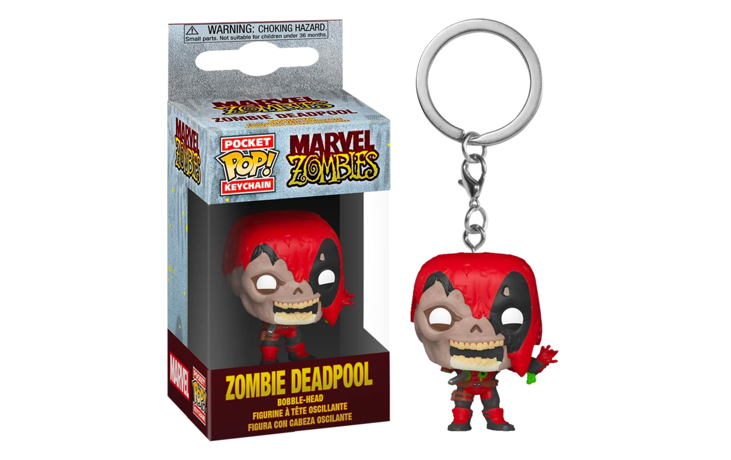 Marvel Zombies Zombie Deadpool Funko Pocket POP Keychains