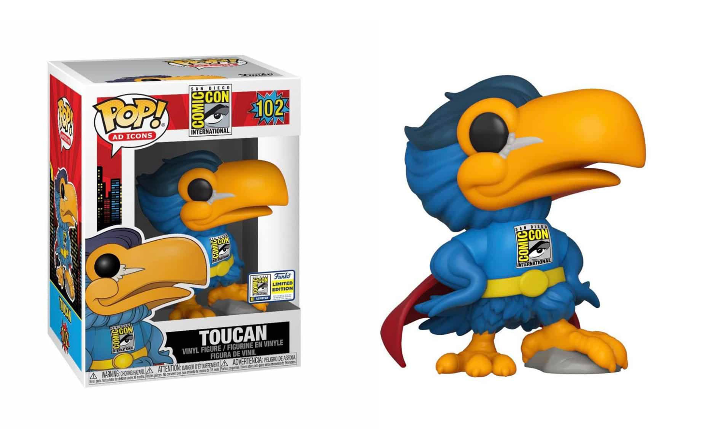 Toucan San Diego Comicon Limited Edition 2020 102 Funko POP Vinyl Figure
