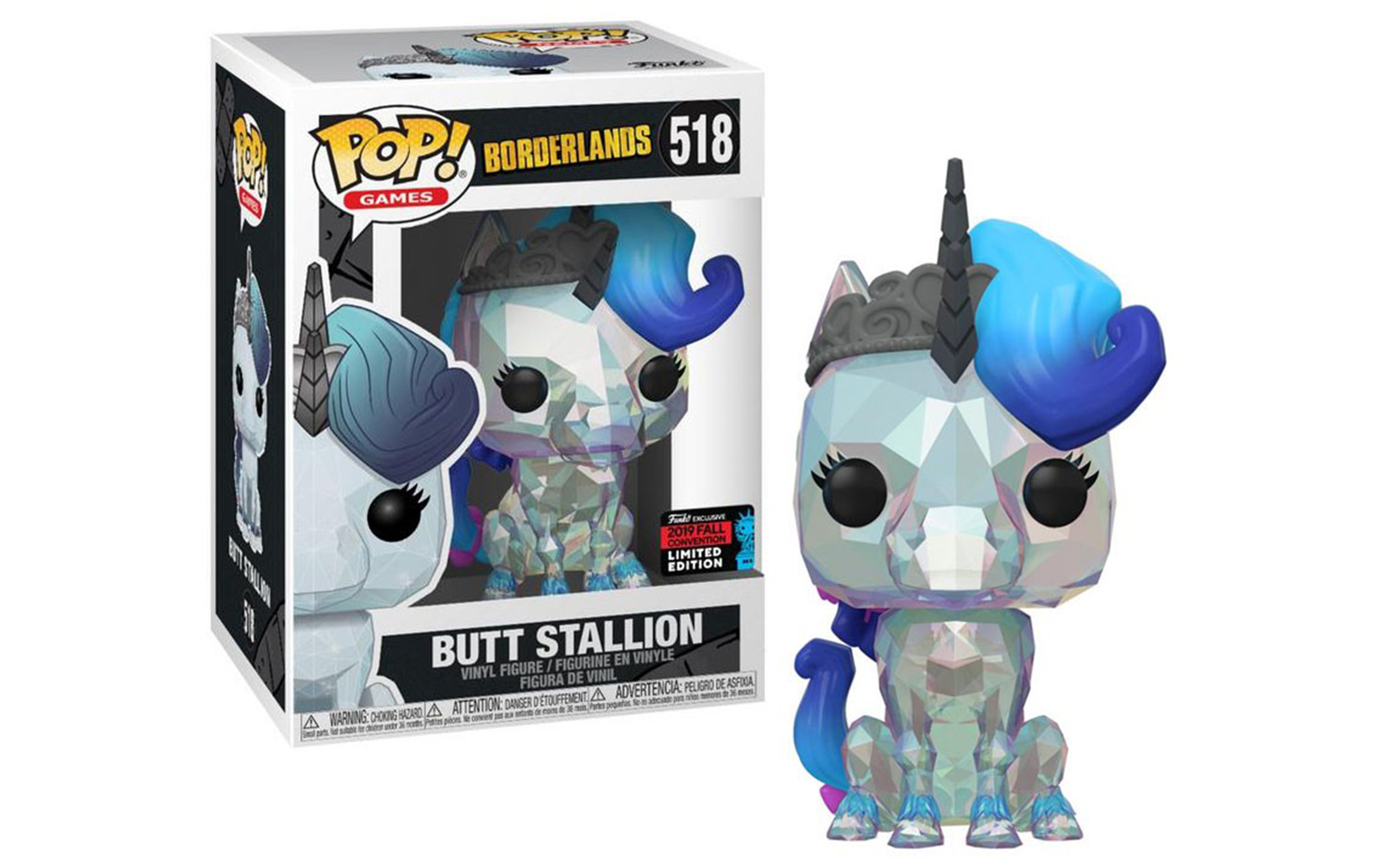 Borderlands Butt Stallion Fall Convention 2019 518 Funko POP Vinyl Figure