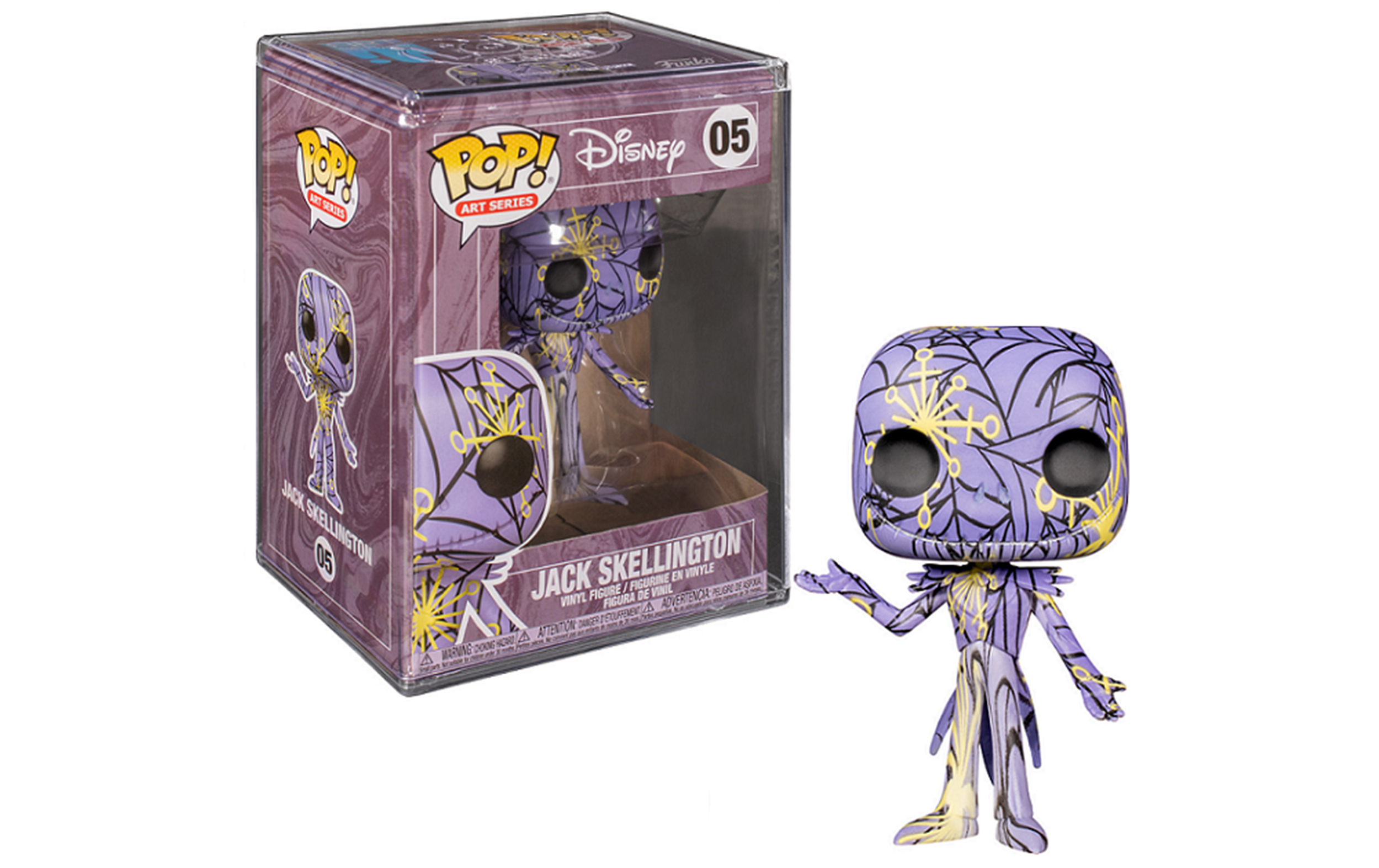 Disney Nightmare Before Christmas Jack Skellington Artist Serie Funko POP Figure
