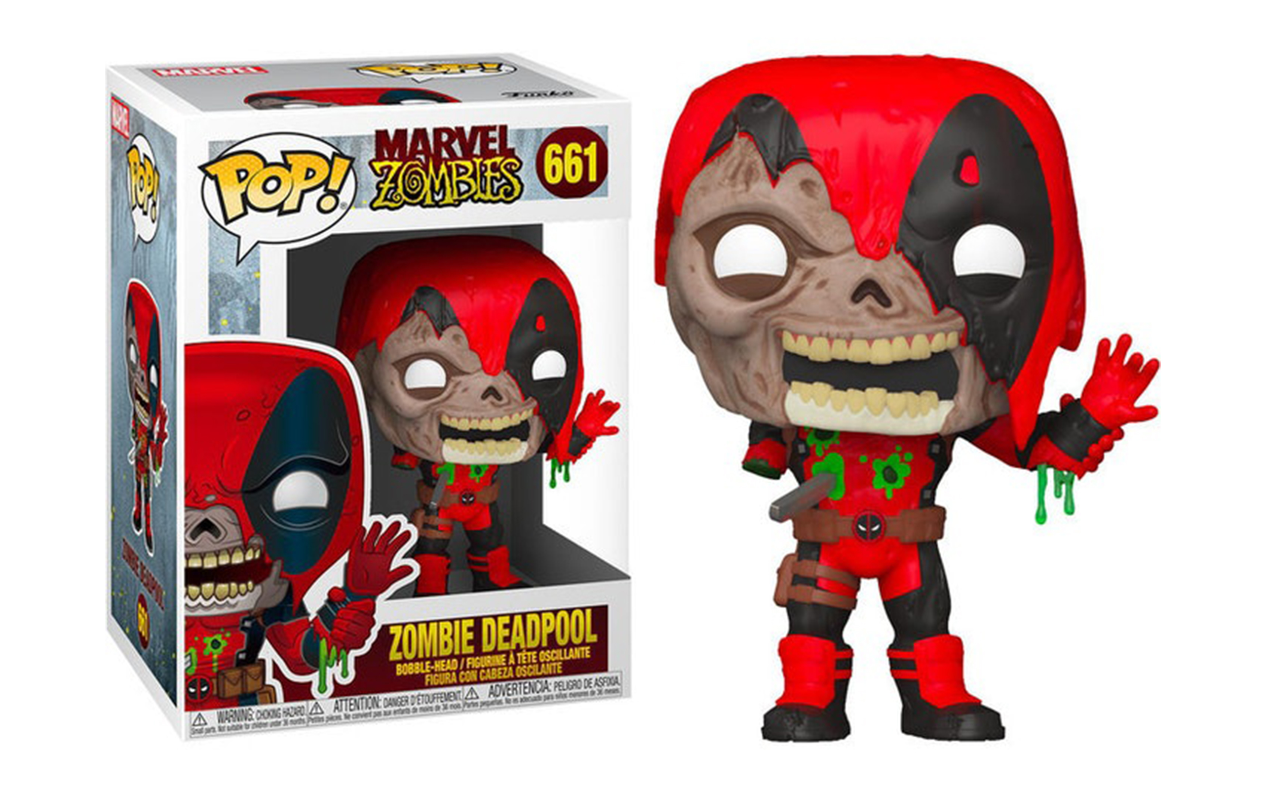 Marvel Zombies Zombie Deadpool 661 Funko POP Vinyl Figure