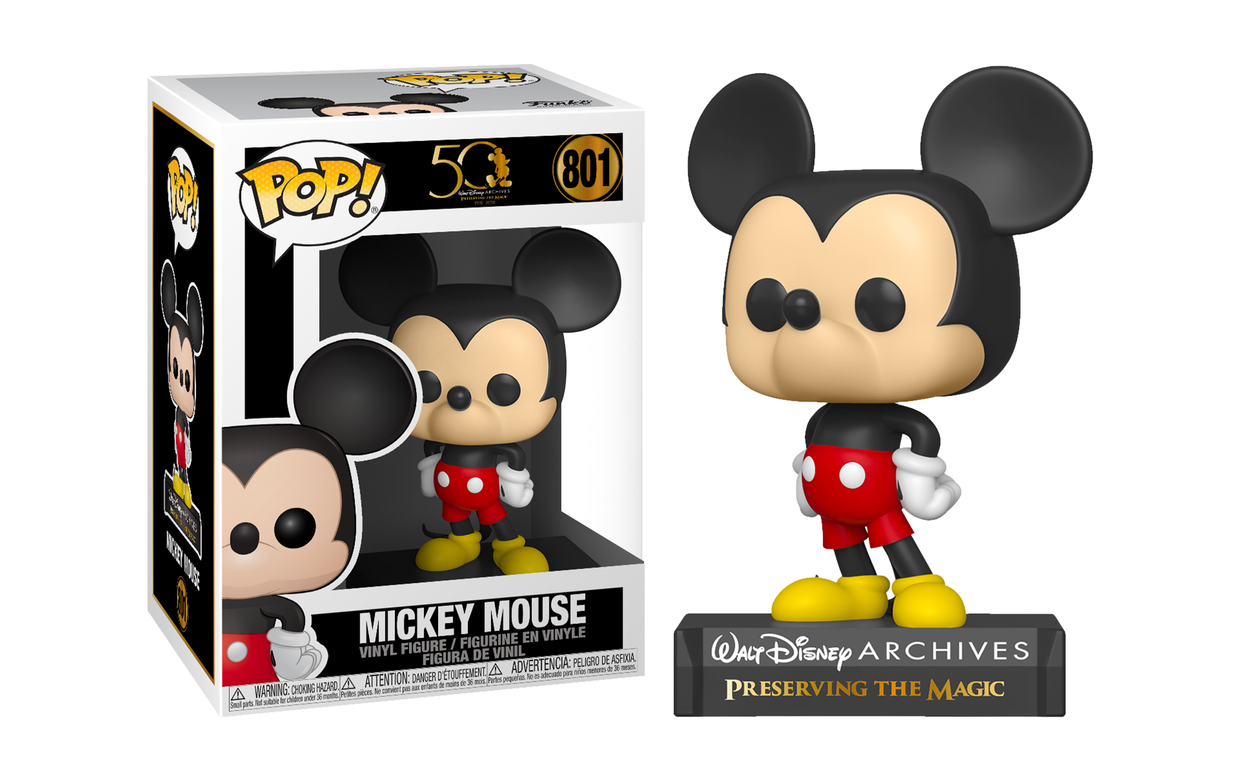 Disney Mickey Mouse 801 Funko POP Vinyl Figure