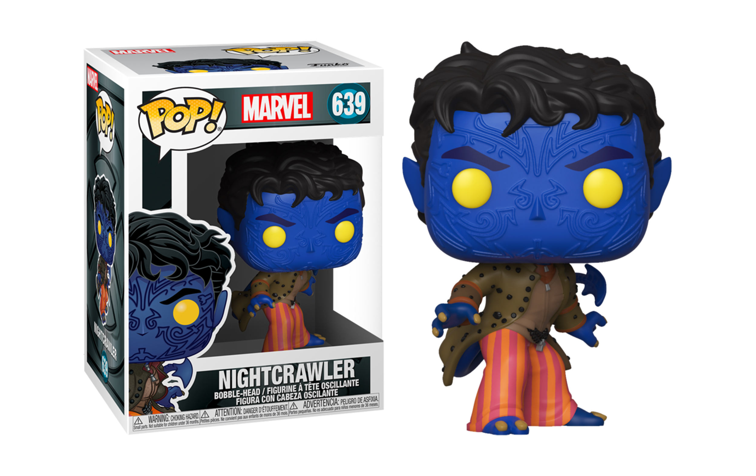 Marvel X-Men 20th Anniversary Nightcrawler 639 Funko POP Vinyl Figure