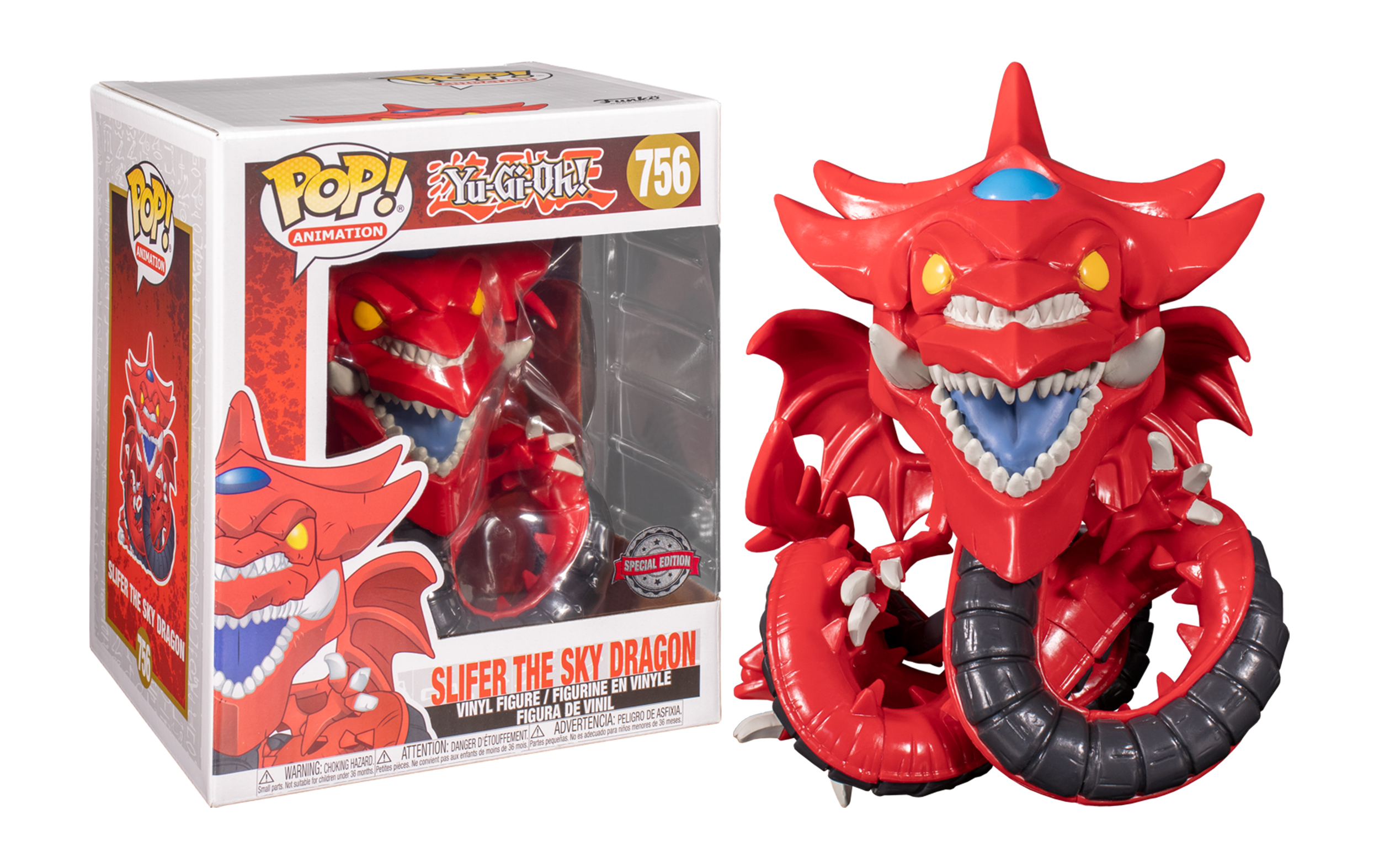 Yu-Gi-Oh Slifer the Sky Dragon 756 Funko POP Vinyl Figure