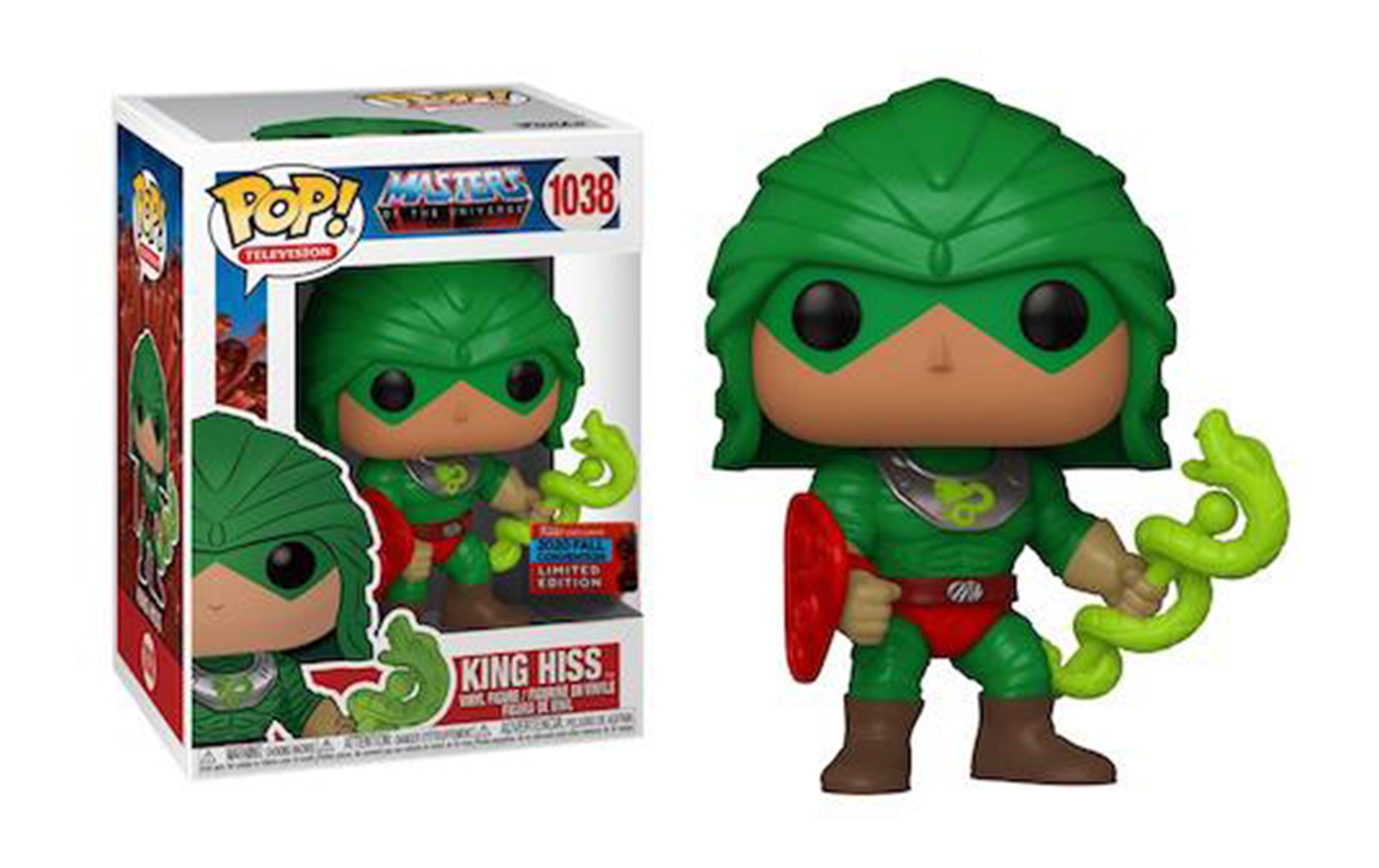 Masters of the Universe King Hiss Fall Convention 2020 1038 Funko POP Figure